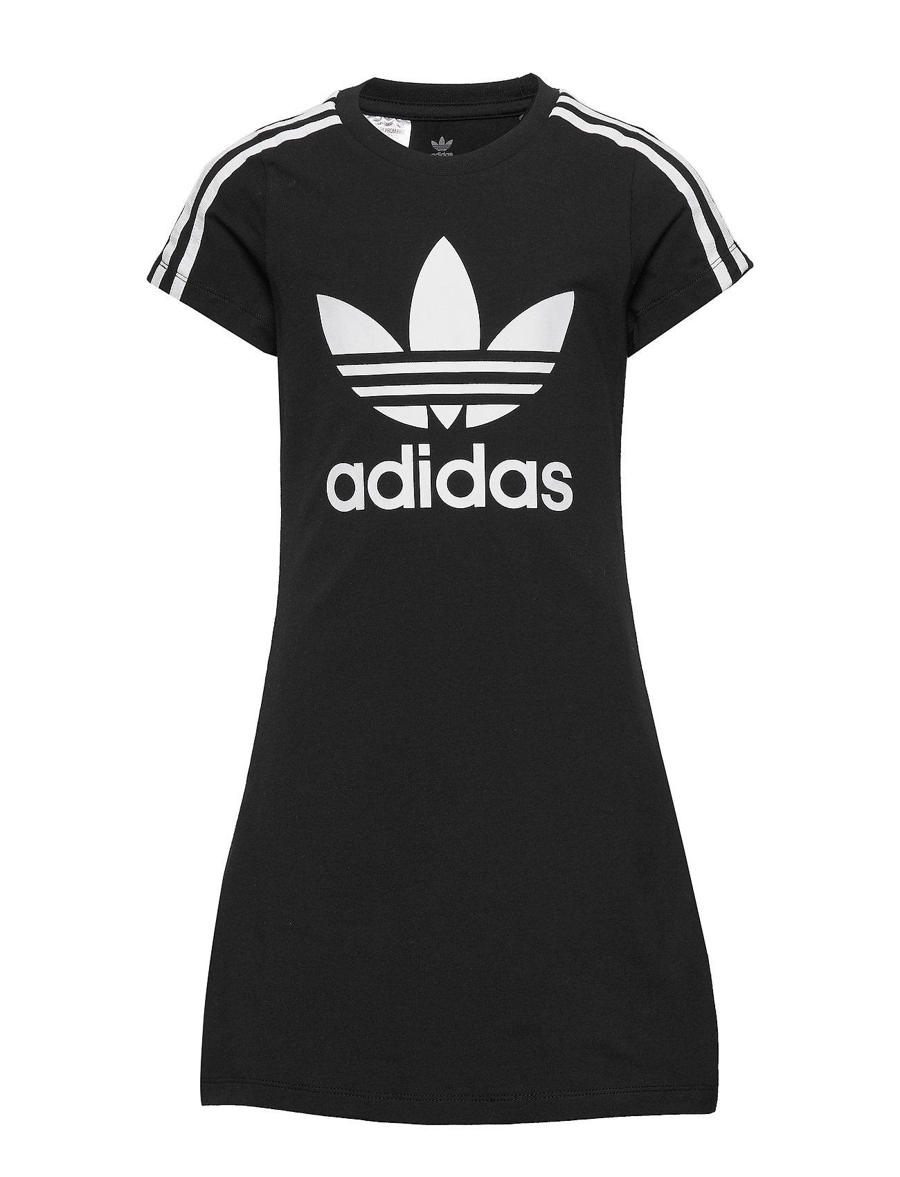 adidas Originals SKATER DRESS - BLACK/WHITE