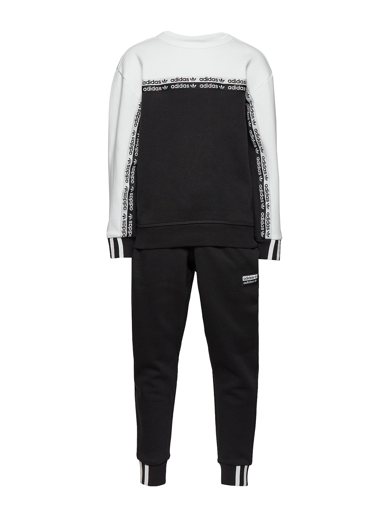 adidas Originals CREW - BLACK/WHITE
