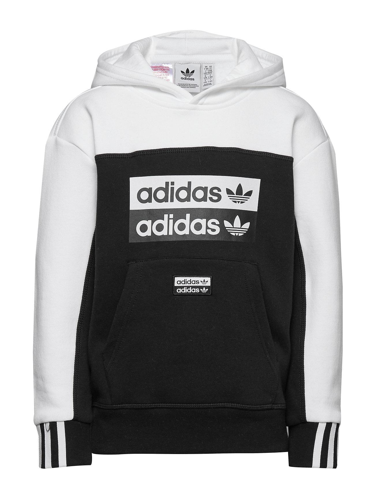adidas Originals HOODIE - BLACK/WHITE