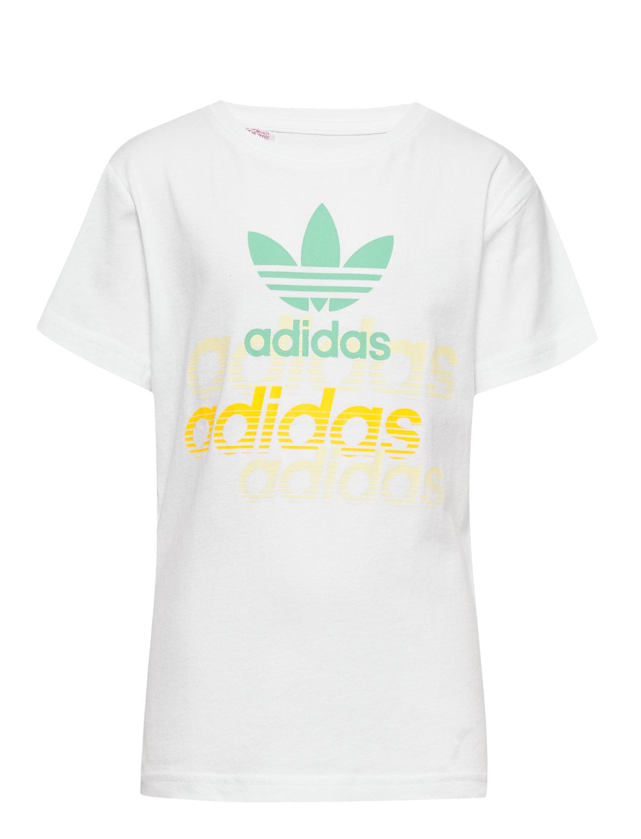 adidas Originals GRAPHIC TEE - WHITE