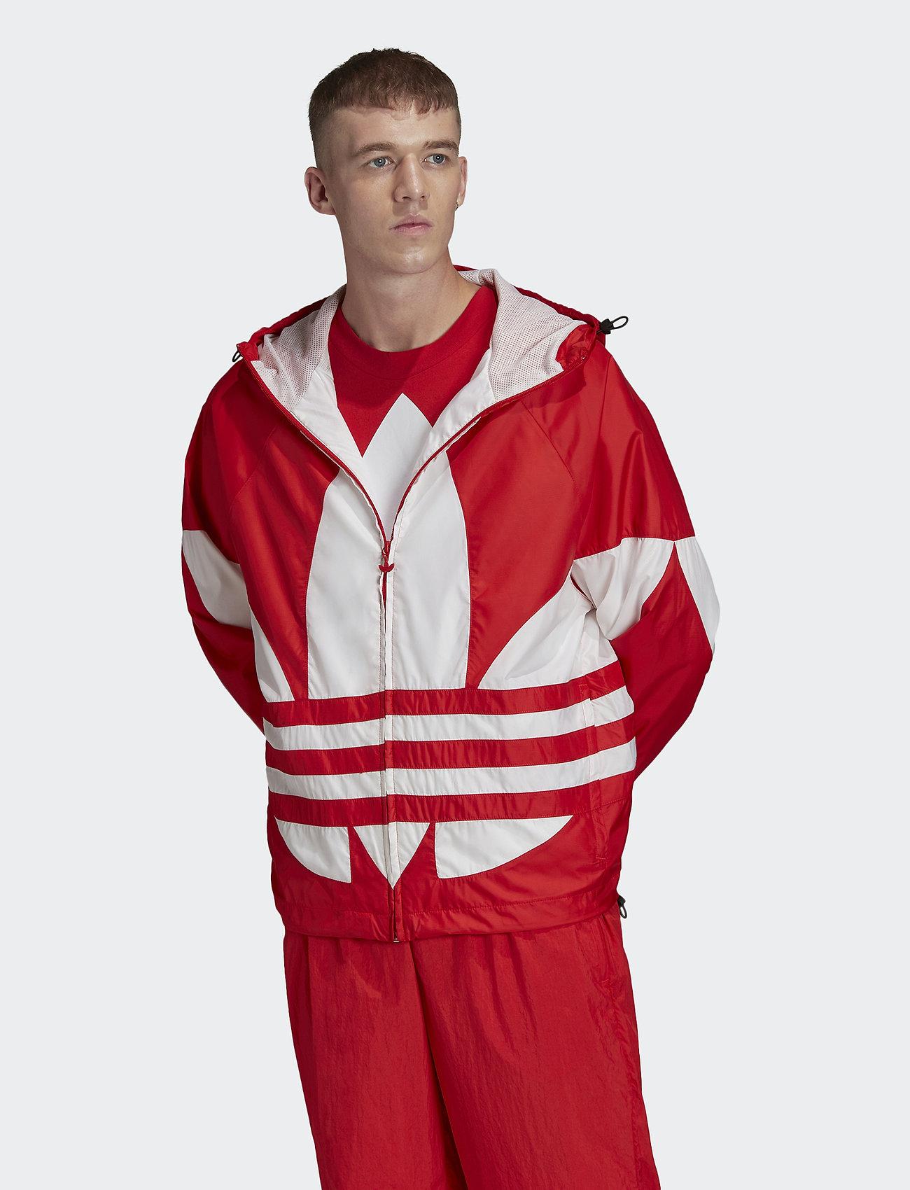adidas Originals - BIG TREFOIL WB - athleisure jackets - lusred - 0