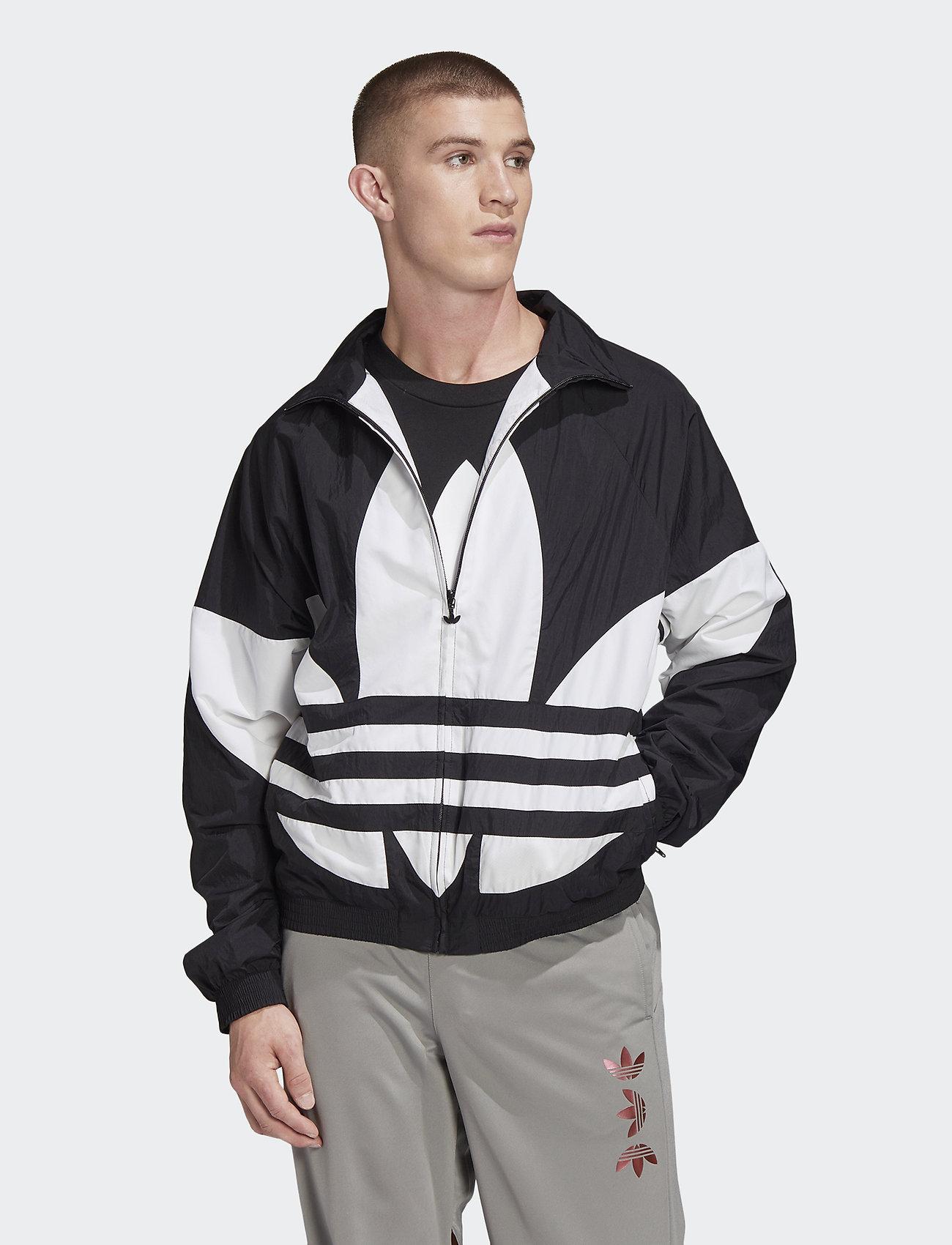 adidas Originals - BG TREFOIL TT - athleisure jackets - black - 0