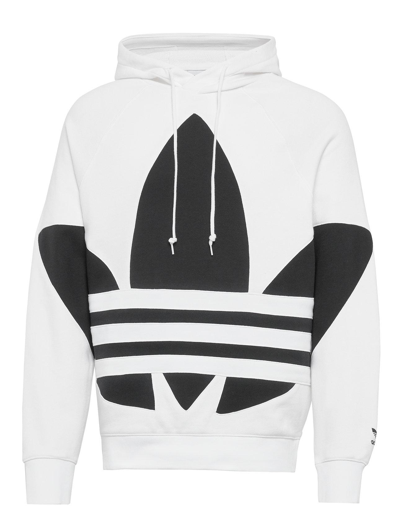 adidas Originals BG TREFOIL HOOD - WHITE