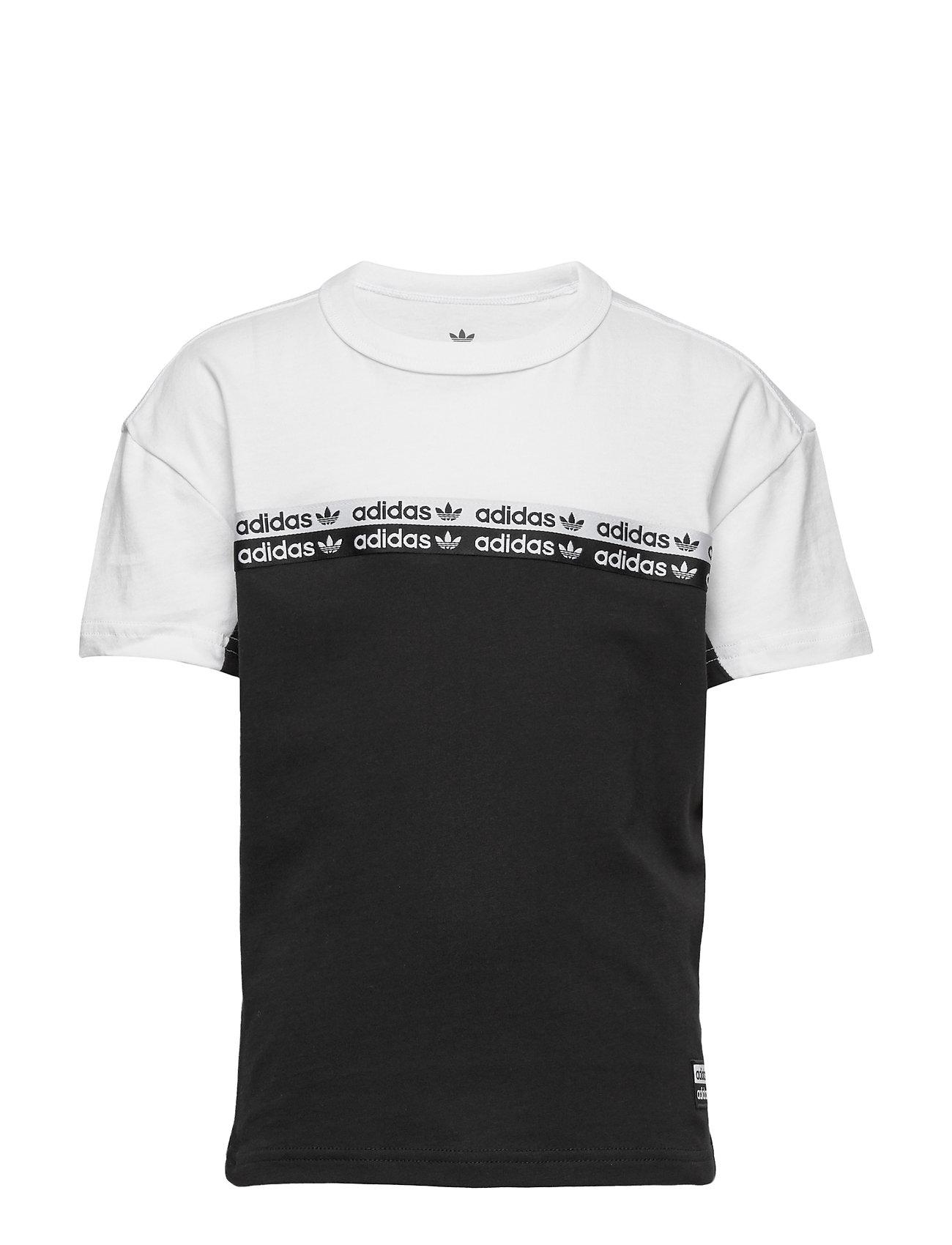 adidas Originals TEE - BLACK/WHITE