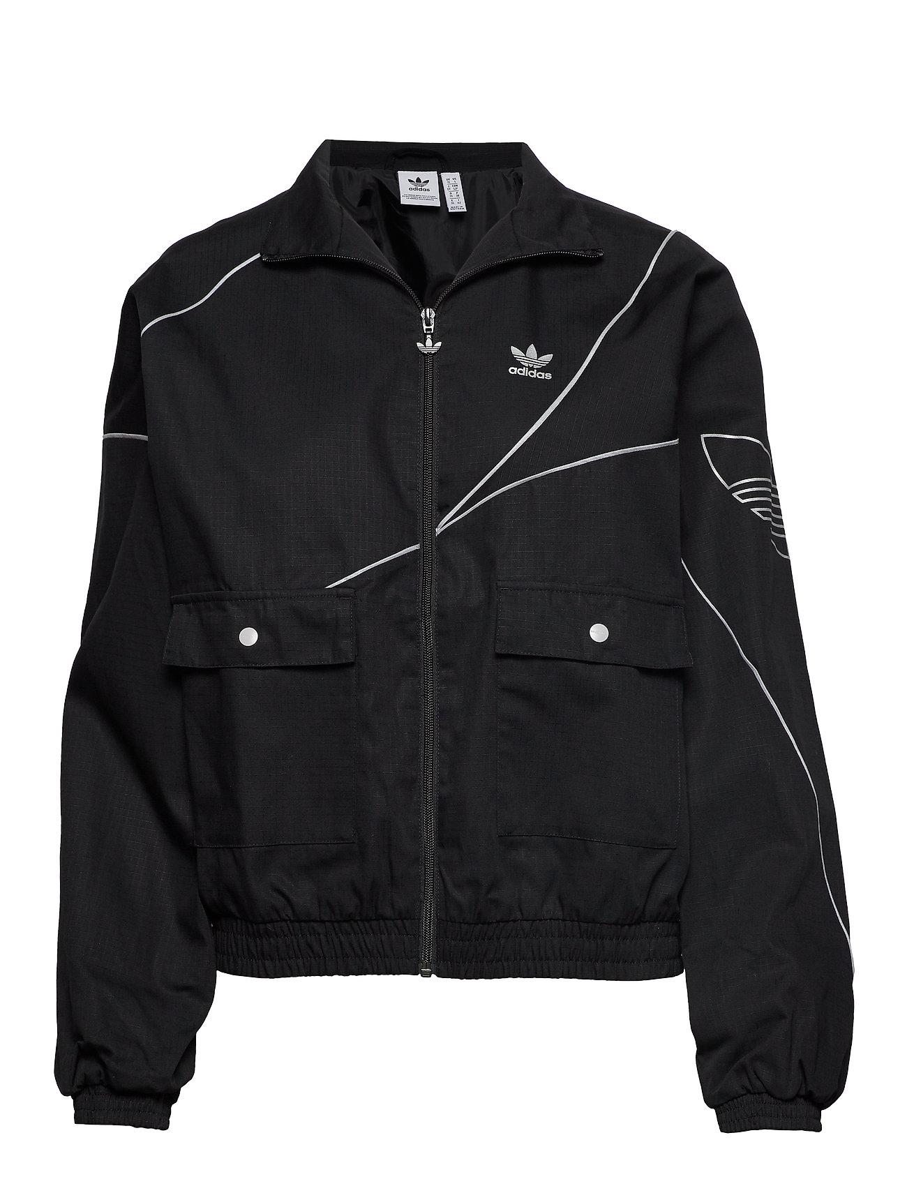 adidas Originals TRACK TOP - BLACK