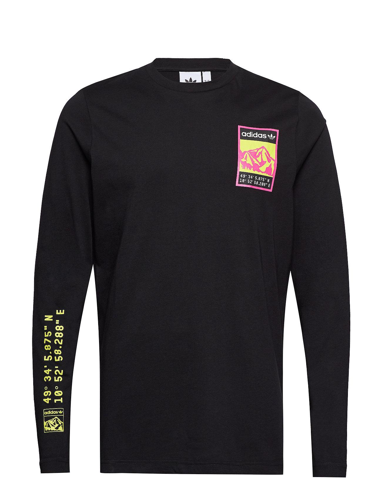 adidas Originals LONGSLEEVE - BLACK