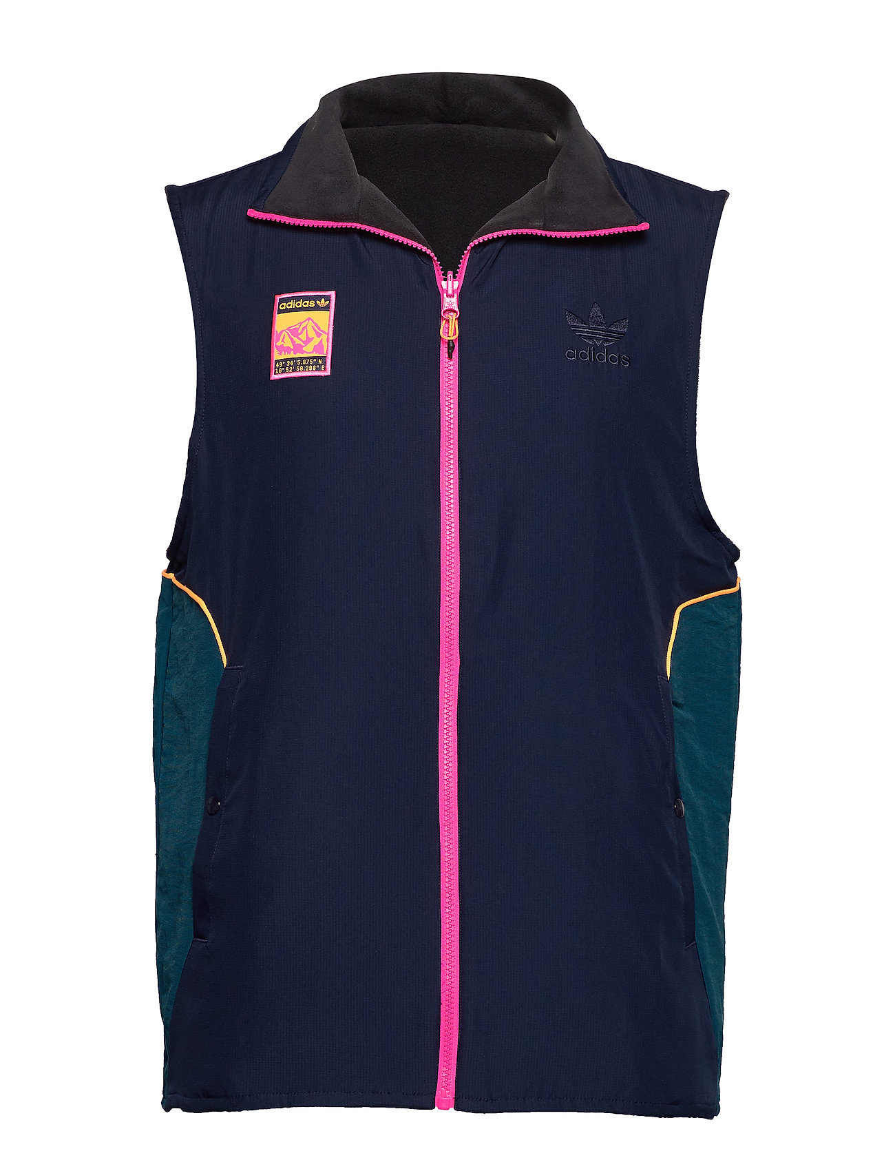adidas Originals VEST - BLACK/MULTCO