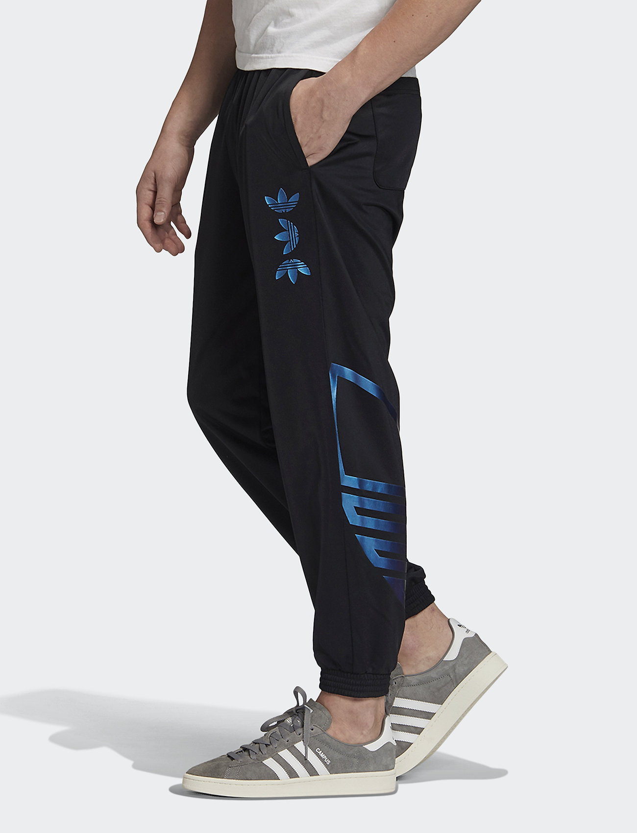 adidas Originals - ZENO TP - pants - black/royblu - 0