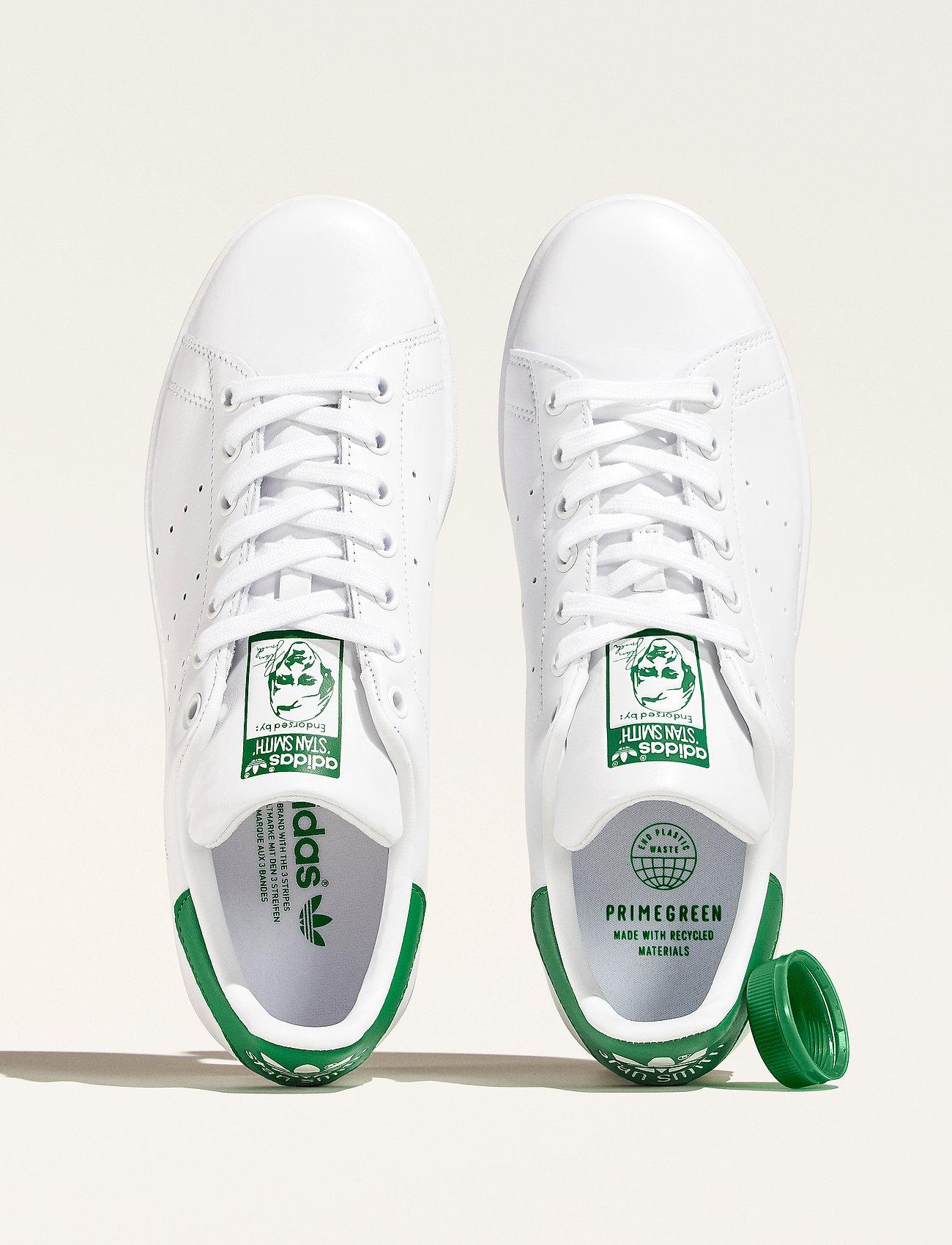 adidas Originals - Stan Smith - låga sneakers - ftwwht/ftwwht/green - 0
