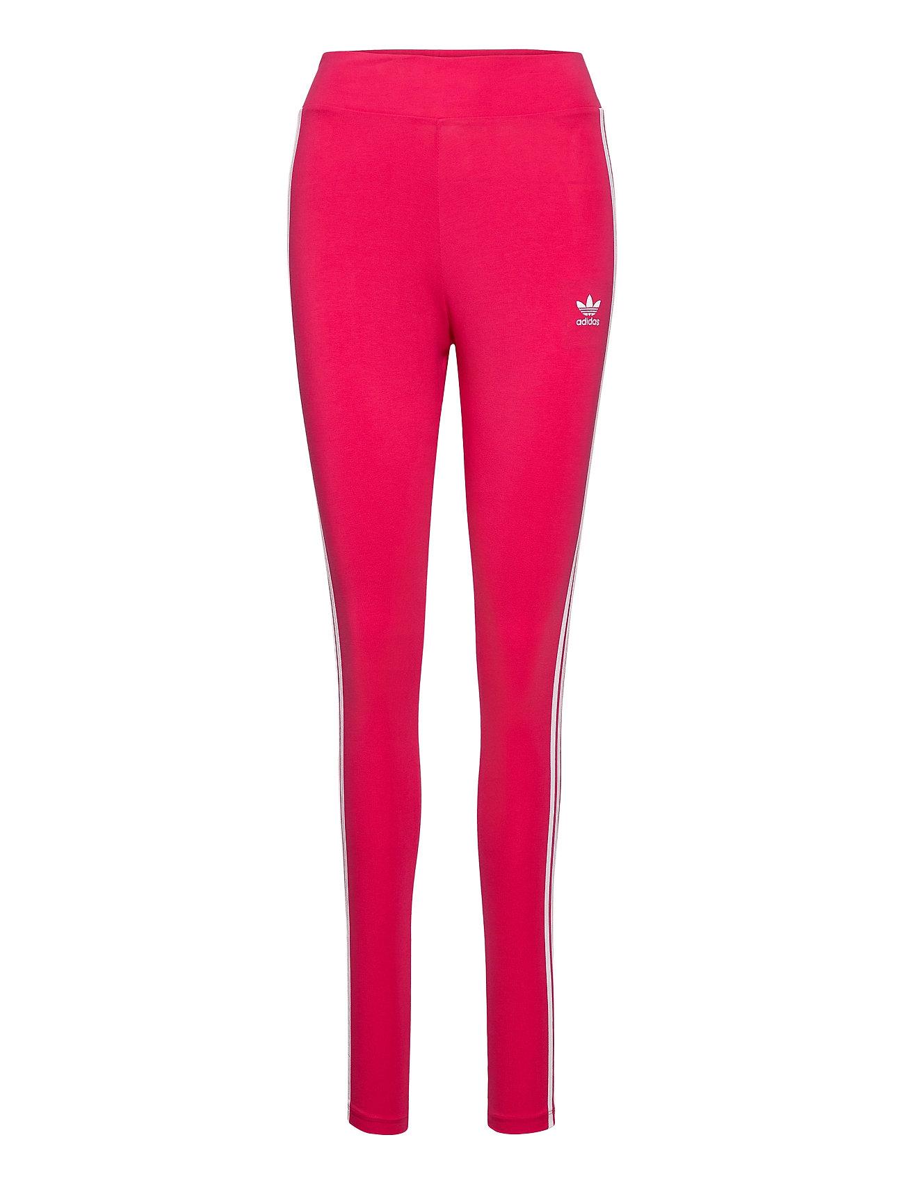 Image of 3 Str Tight Running/training Tights Rød Adidas Originals (3445308155)