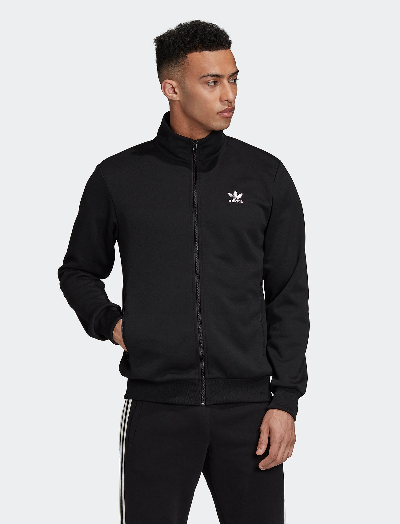 adidas Originals - ESSENTIAL TT - basic-sweatshirts - black - 0