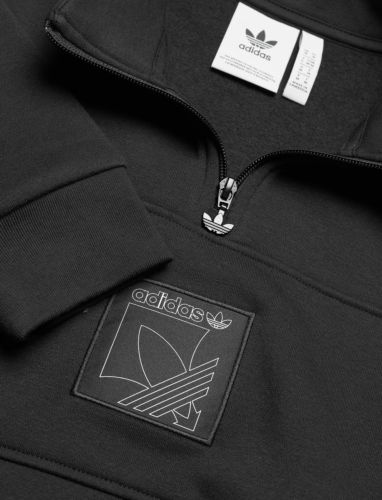 adidas Originals SPRT ICON QZTT - Sweatshirts BLACK - Menn Klær