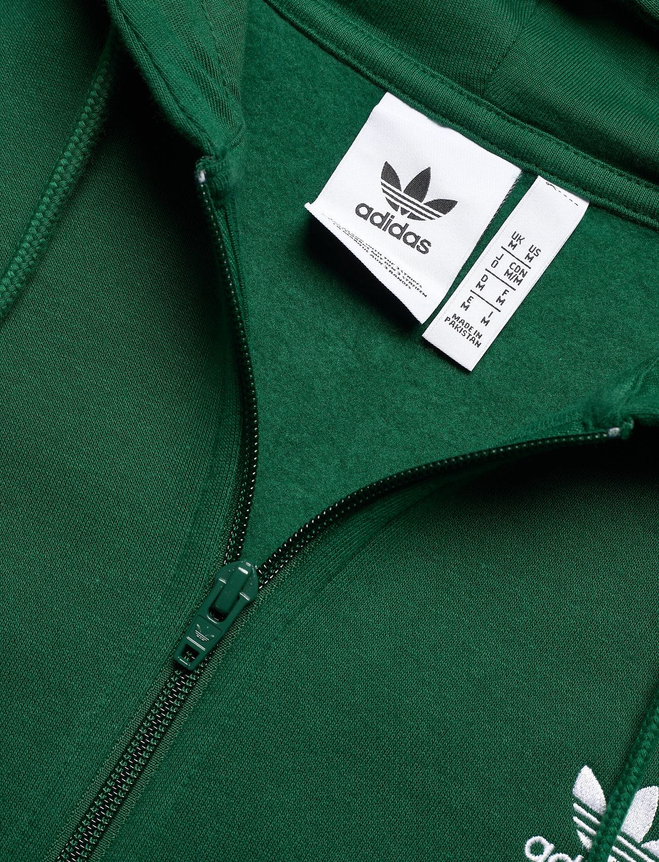 adidas Originals 3-STRIPES FZ - Sweatshirts DRKGRN - Menn Klær