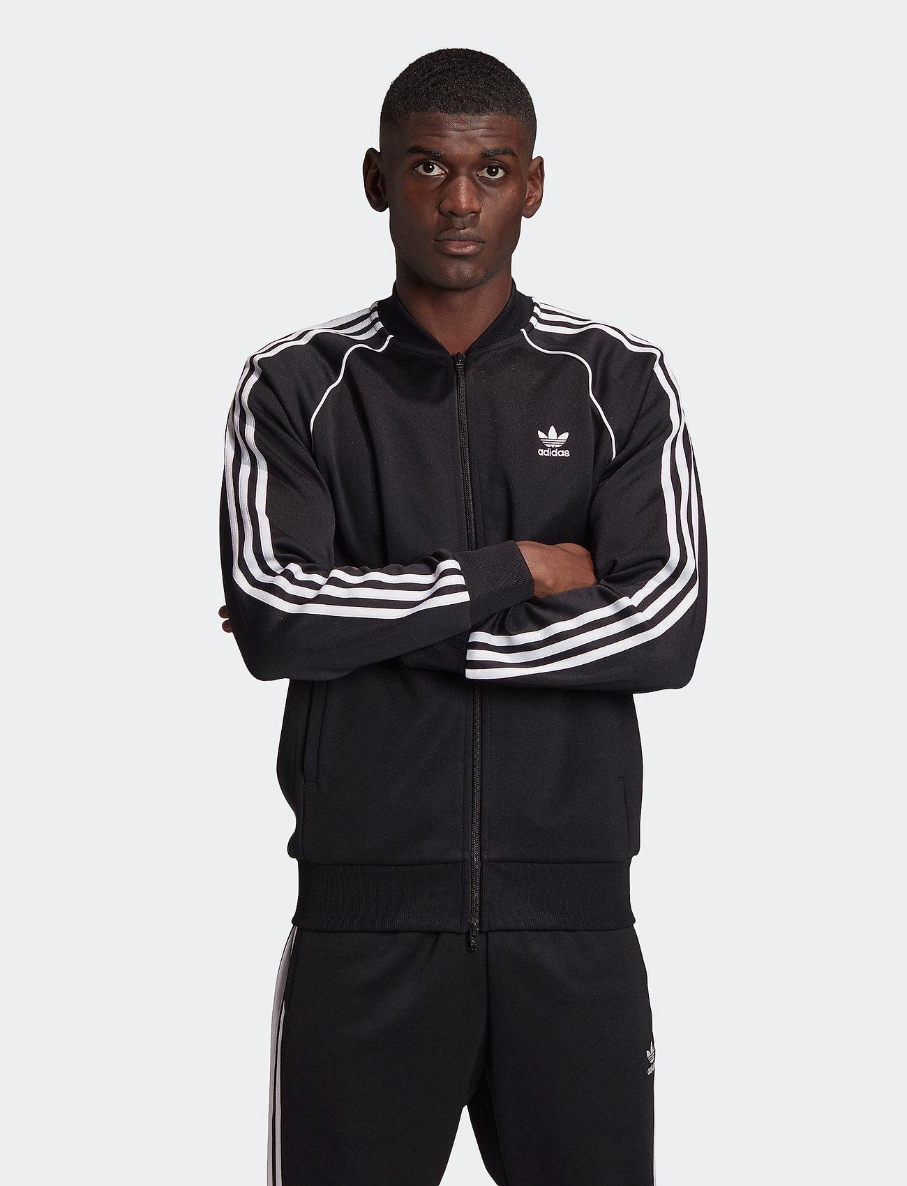 adidas Originals - Adicolor Classics Primeblue SST Track Jacket - basic sweatshirts - black/white - 0