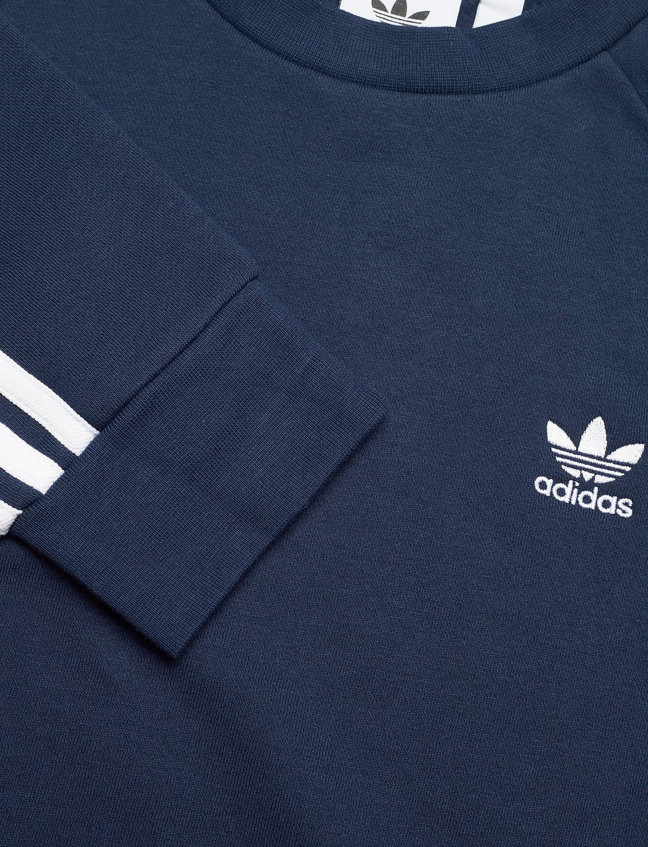 adidas Originals 3-STRIPES CREW - Sweatshirts CONAVY - Menn Klær