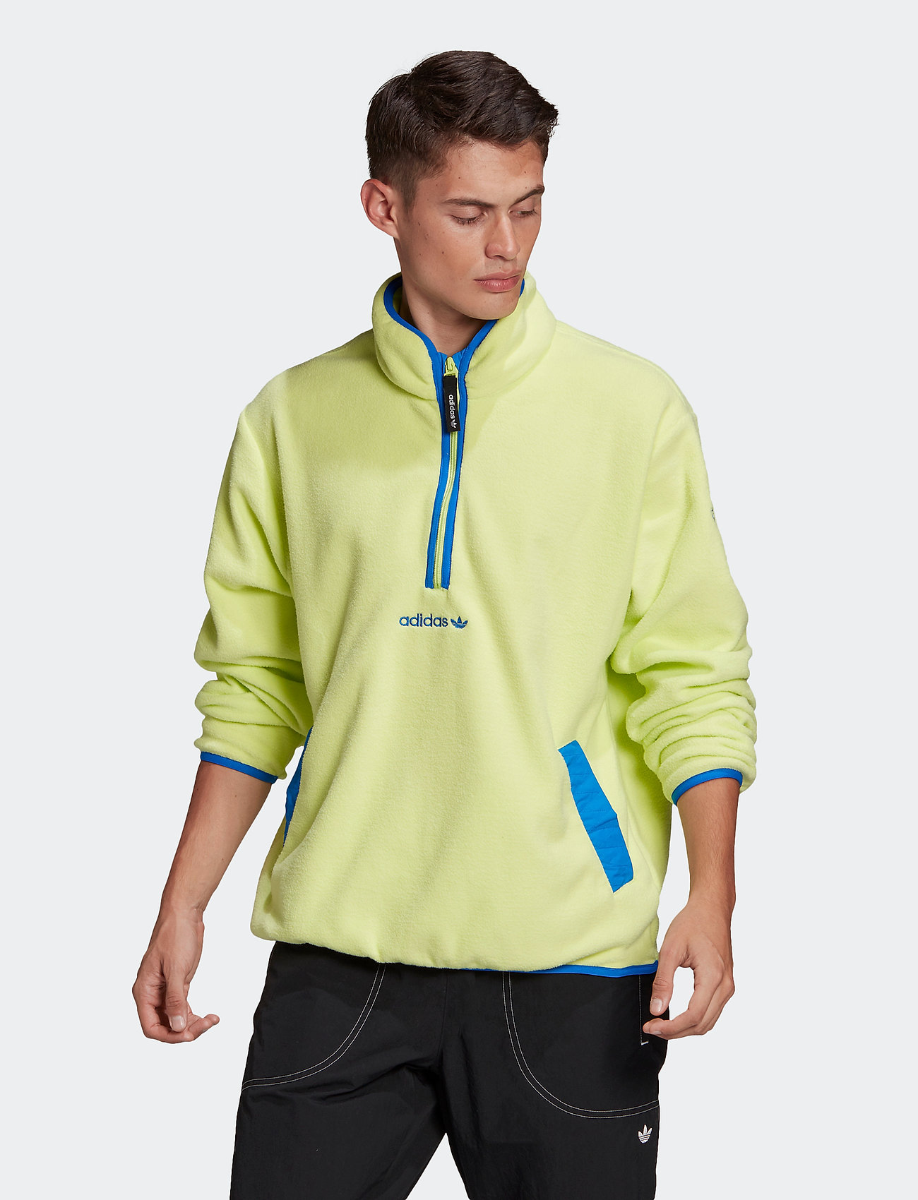 adidas Originals - Adventure Polar Fleece Half-Zip Sweatshirt - podstawowe bluzy - sefrye - 0
