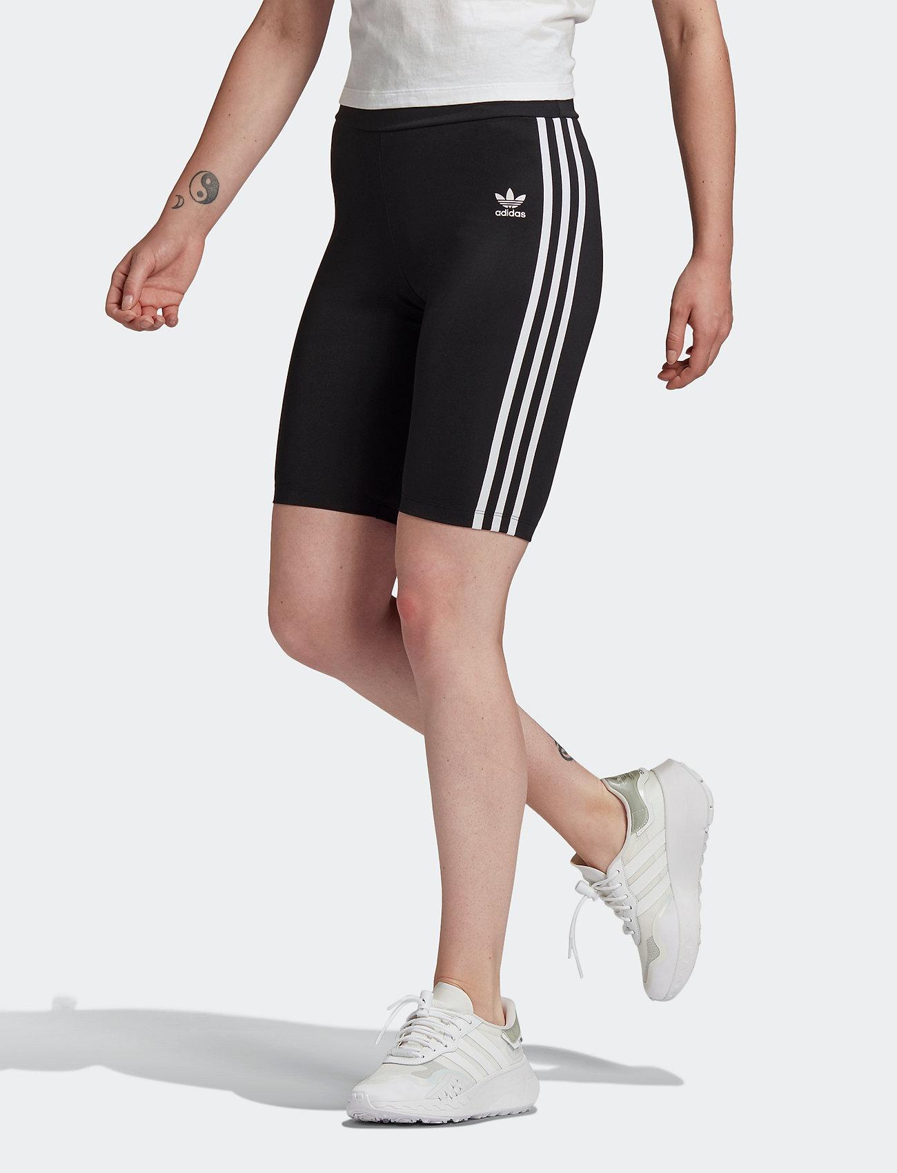 adidas Originals - Adicolor Classics Primeblue High-Waisted PB Short Tights W - træningsshorts - black - 0