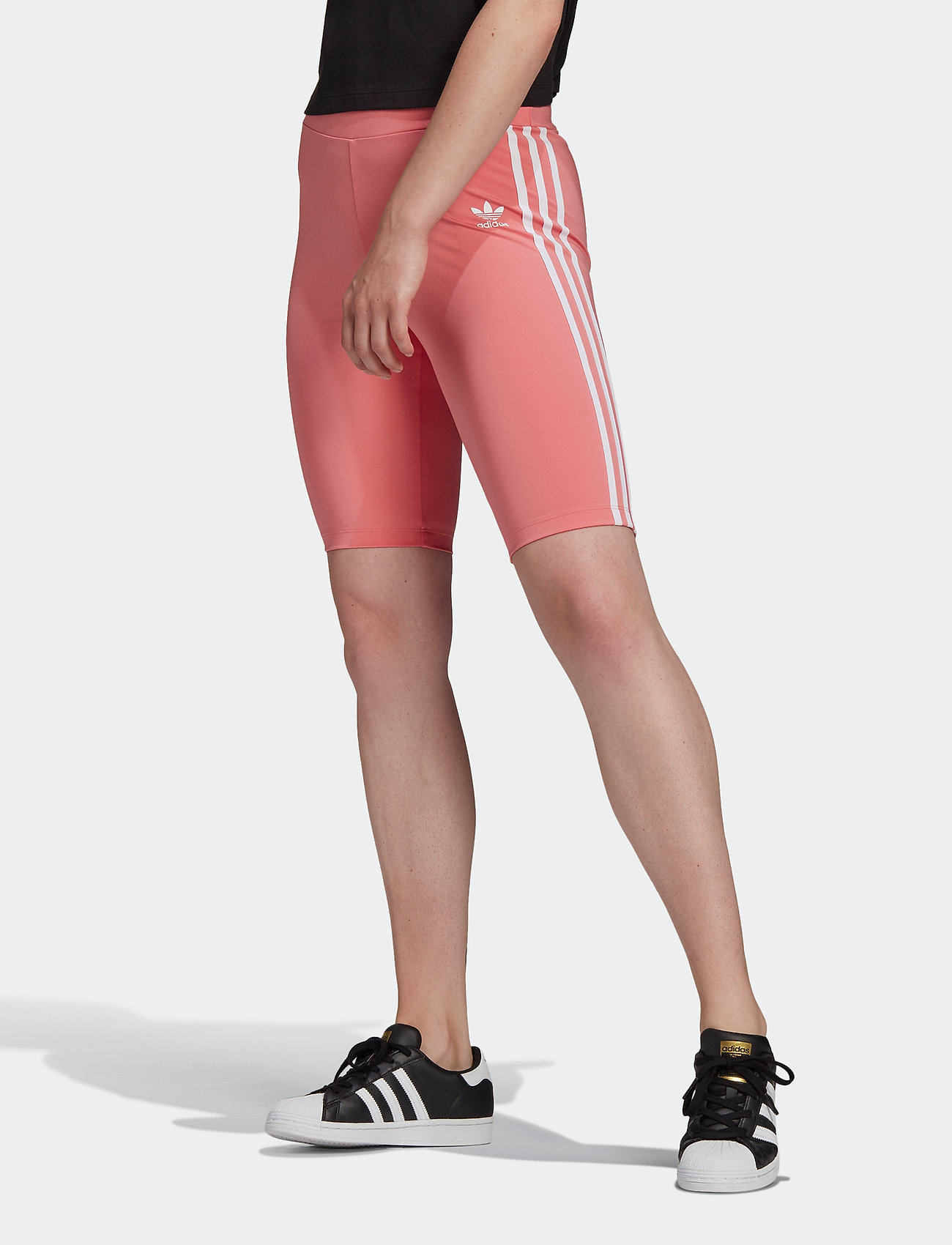 adidas Originals - Adicolor Classics Primeblue High-Waisted Short Tights W - träningsshorts - hazros - 0