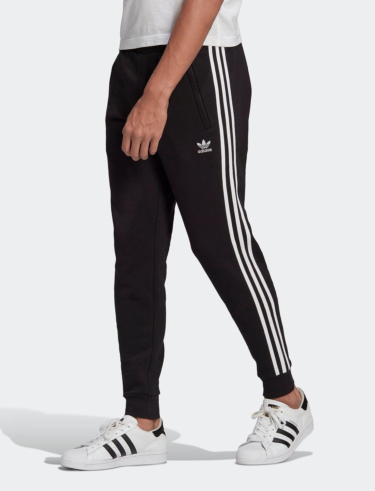 adidas Originals - Adicolor Classics 3-Stripes Pants - bukser - black - 0