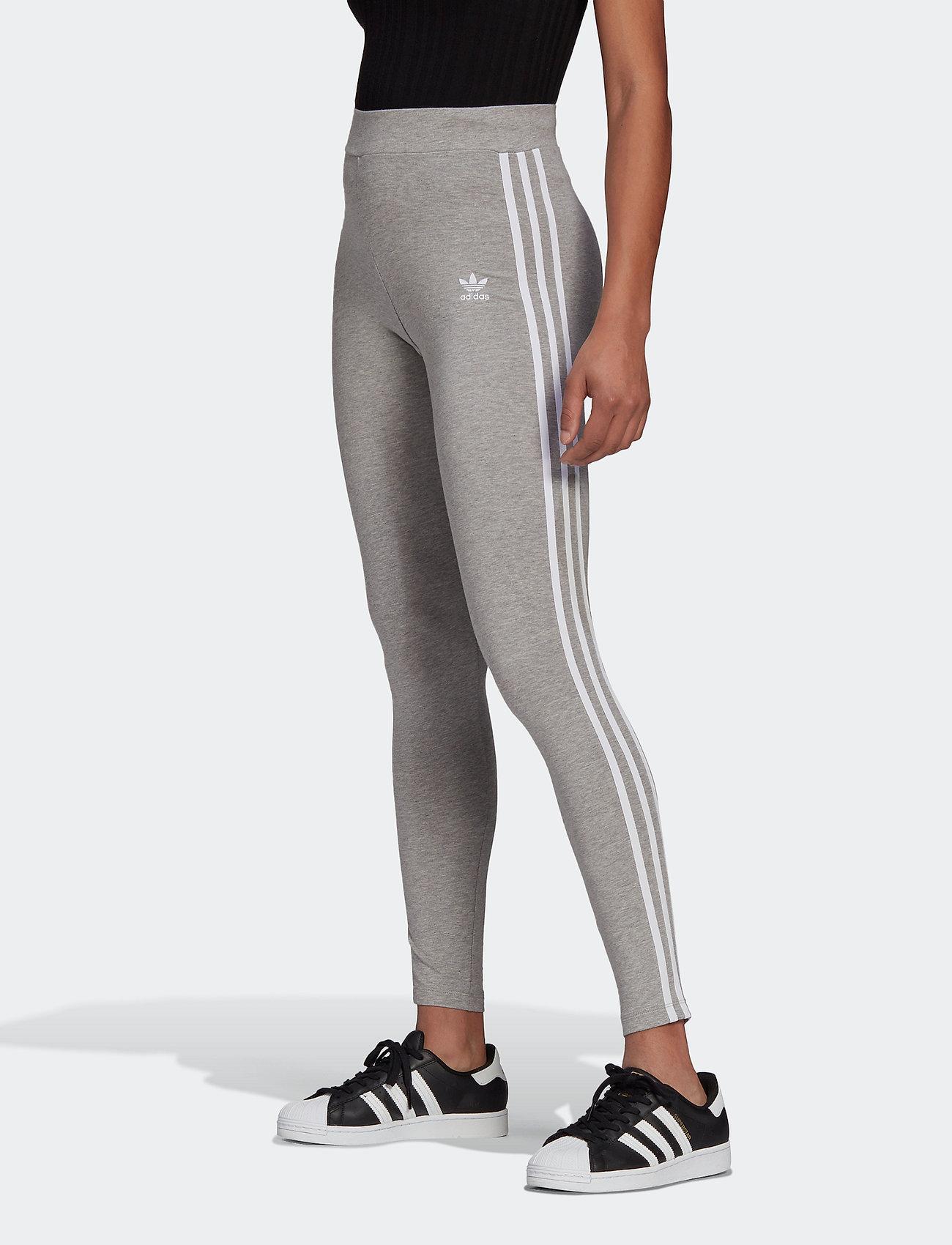 adidas Originals - Adicolor Classics 3-Stripes Tights W - tights & shorts - mgreyh - 0