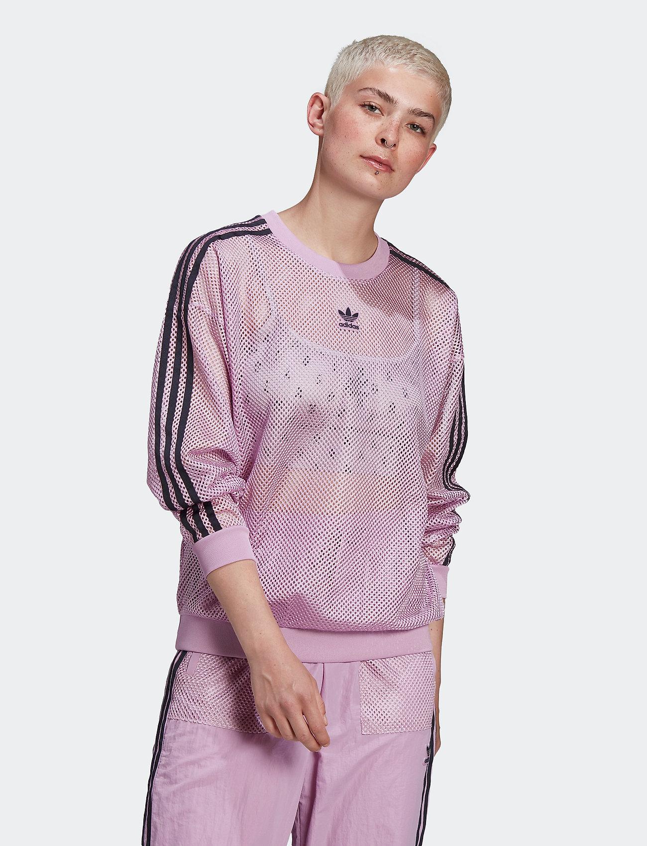 adidas Originals - MESH CREW - svetarit - magber - 0