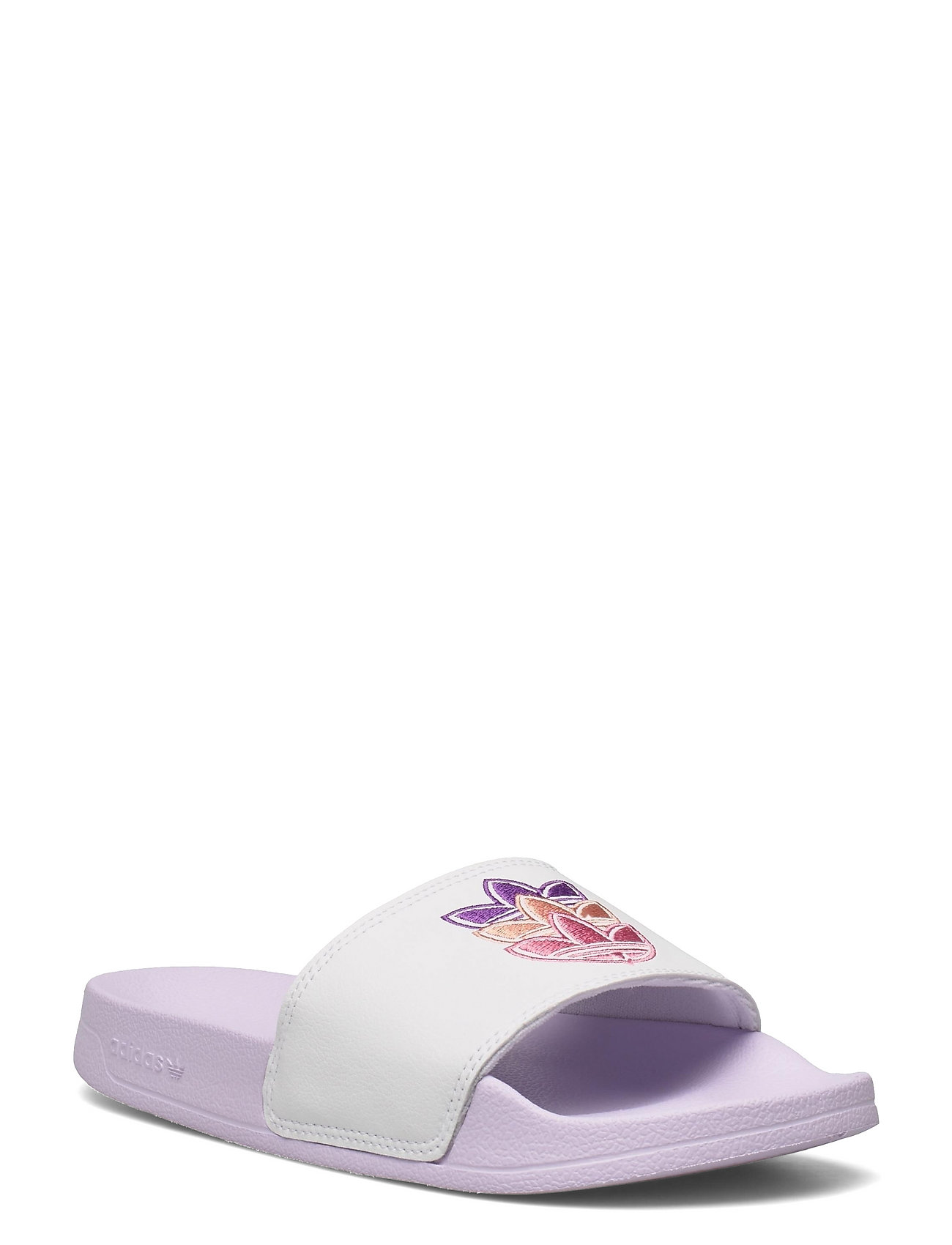 Adilette Lite Slides W Shoes Summer Shoes Pool Sliders Lilla Adidas Originals