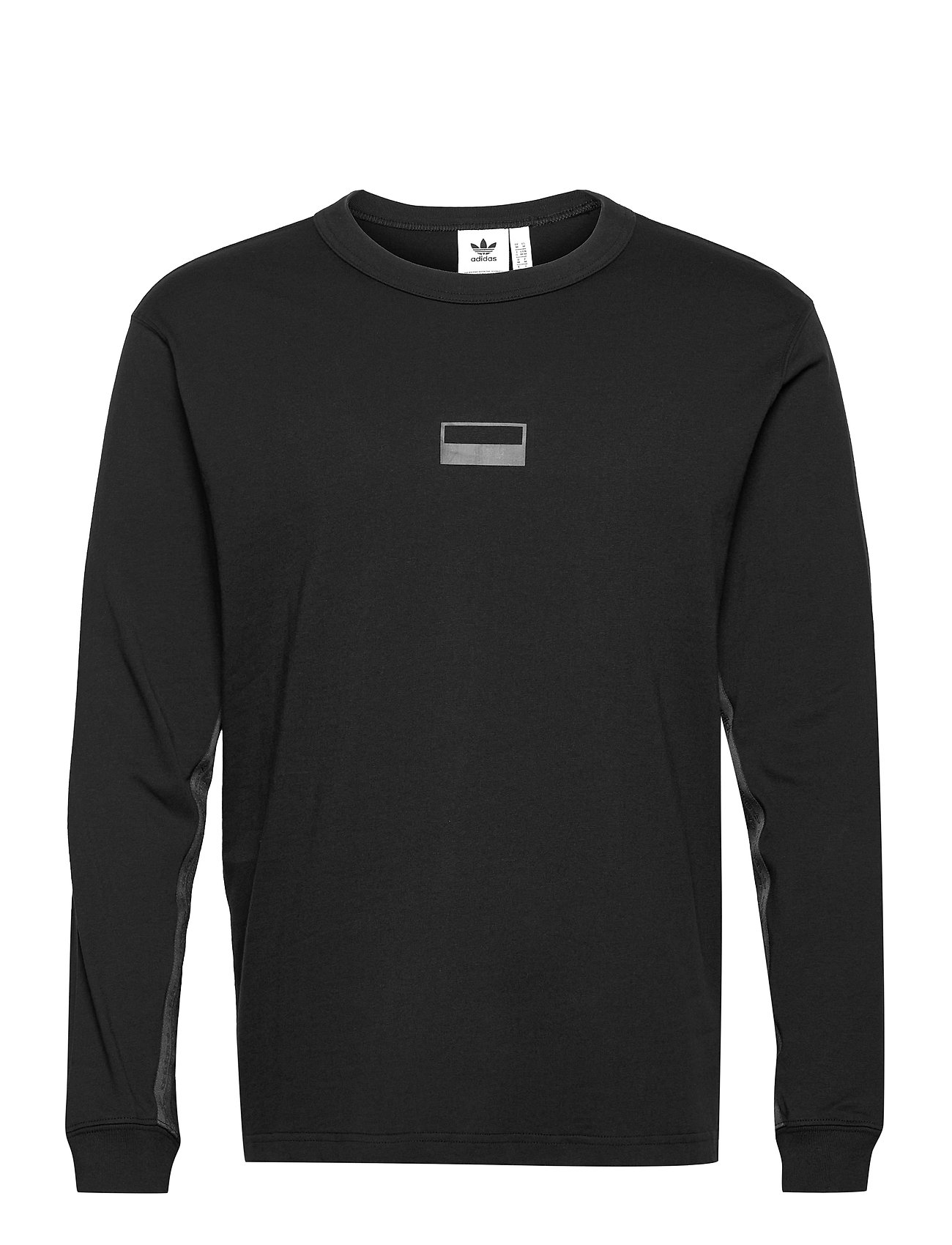 R.Y.V. Loose Fit Crew Sweatshirt Sweatshirt Trøje Sort Adidas Originals