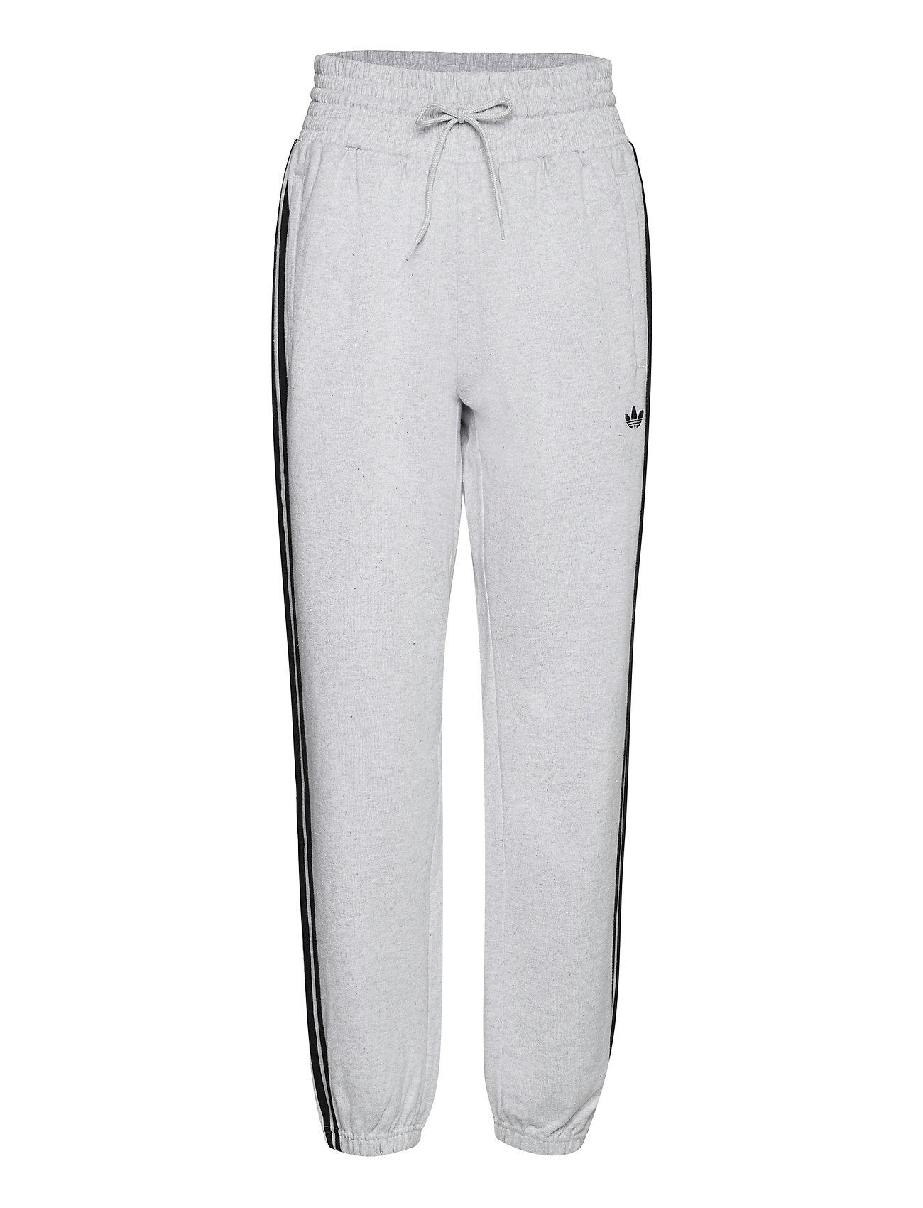 Smocked Waist Cuffed Pants W Sweatpants Hyggebukser Grå Adidas Originals