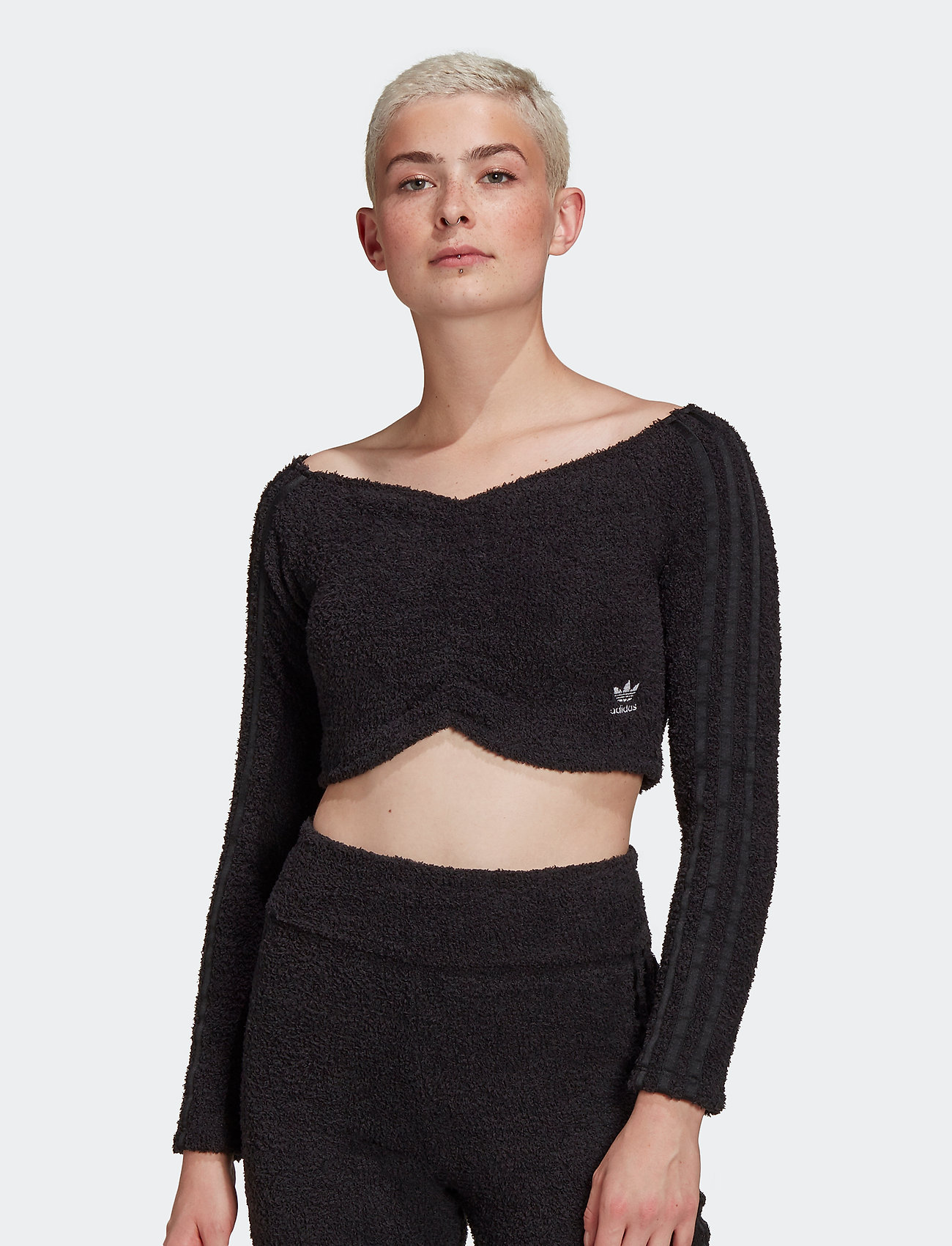 adidas Originals - Crop Top W - crop tops - black - 0