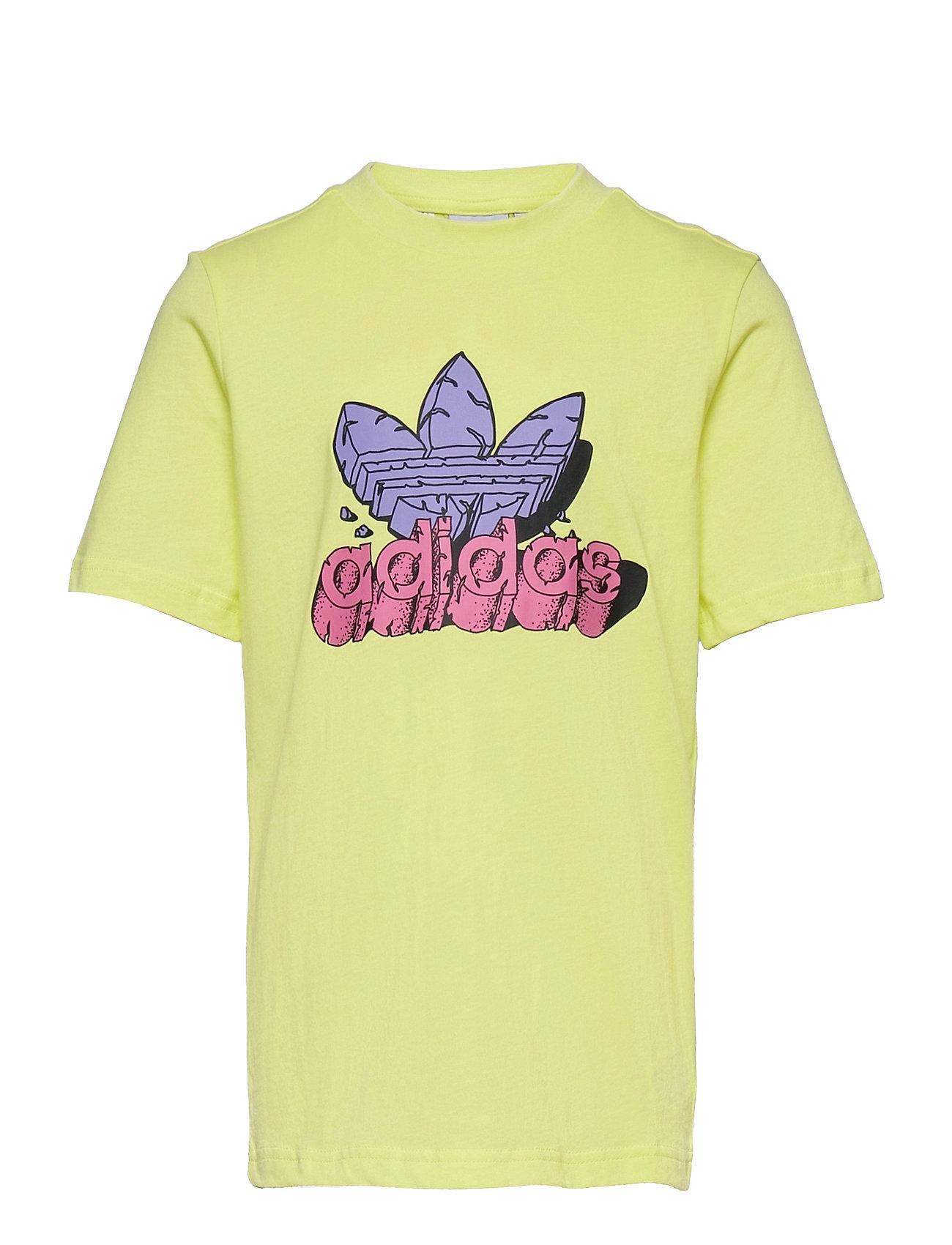 Funny Dino Graphic Tee T-shirt Gul Adidas Originals