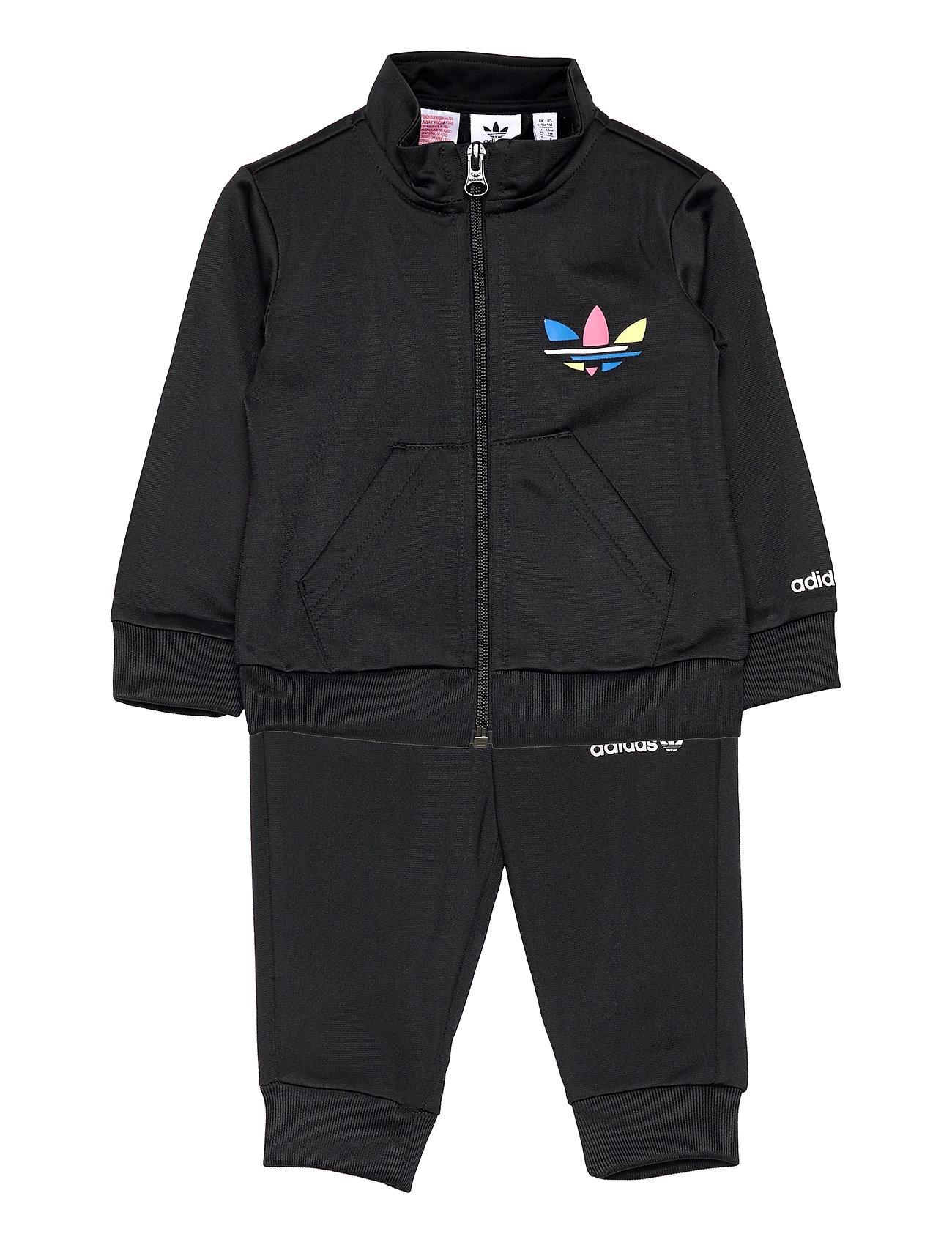 Adicolor Track Suit Tracksuit Sort Adidas Originals
