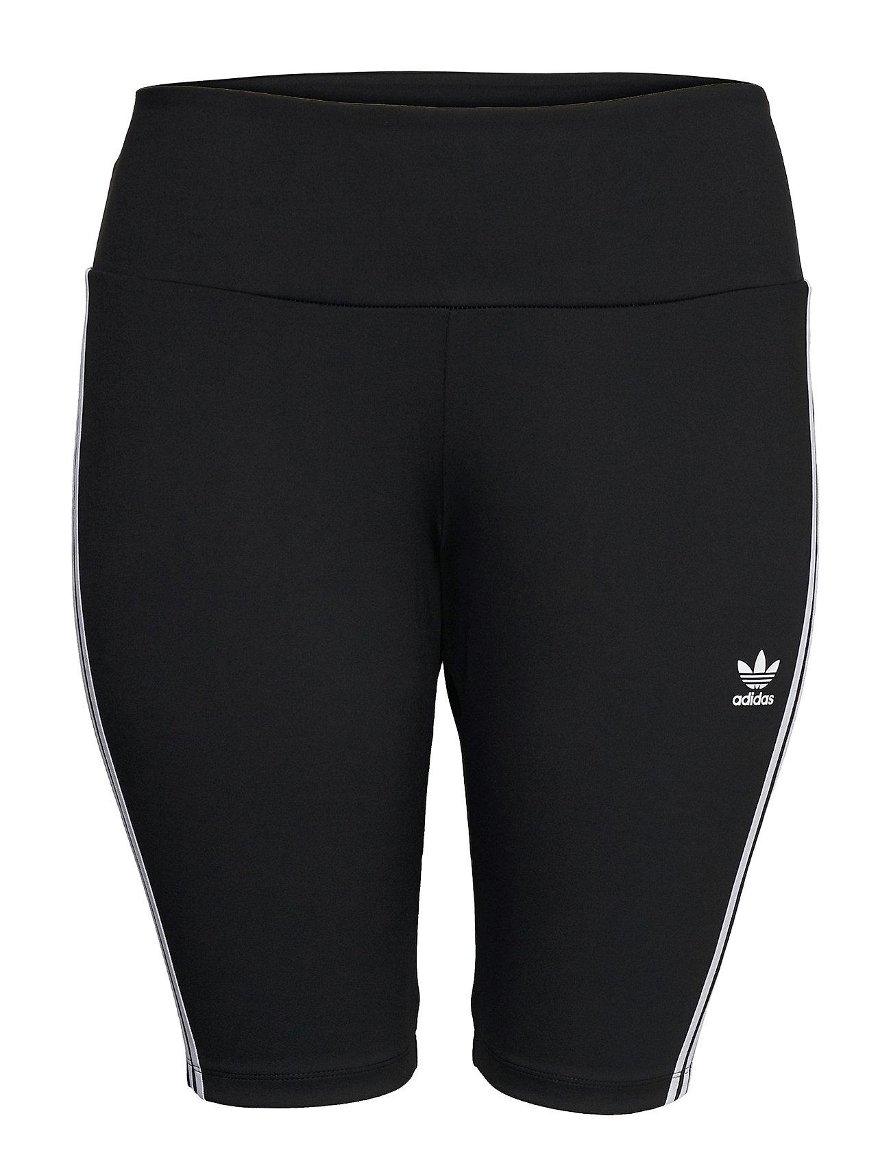 Adicolor Classics Primeblue Hw Short Tights  W Shorts Cycling Shorts Sort Adidas Originals
