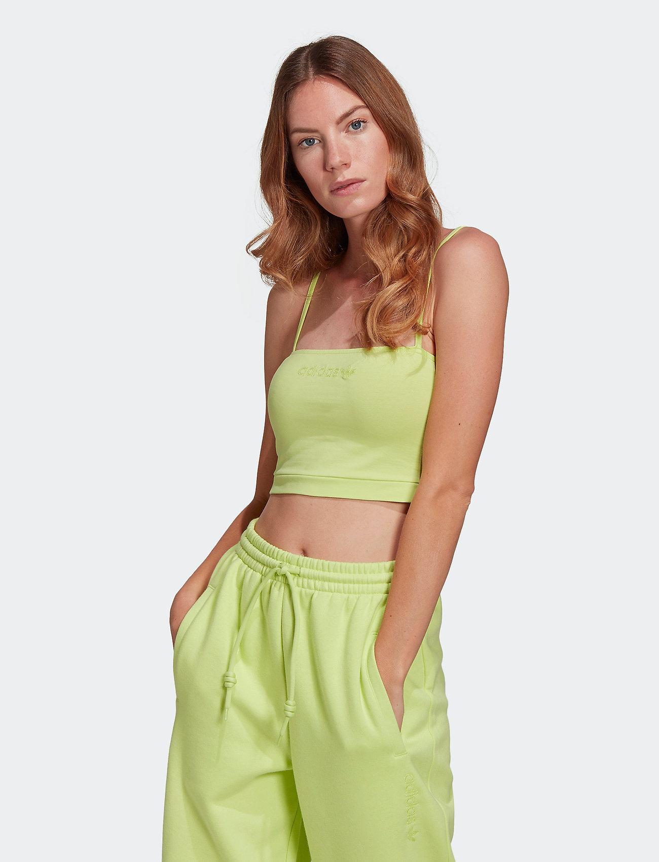 adidas Originals - Spaghetti Tank Top W - navel shirts - sefrye - 0