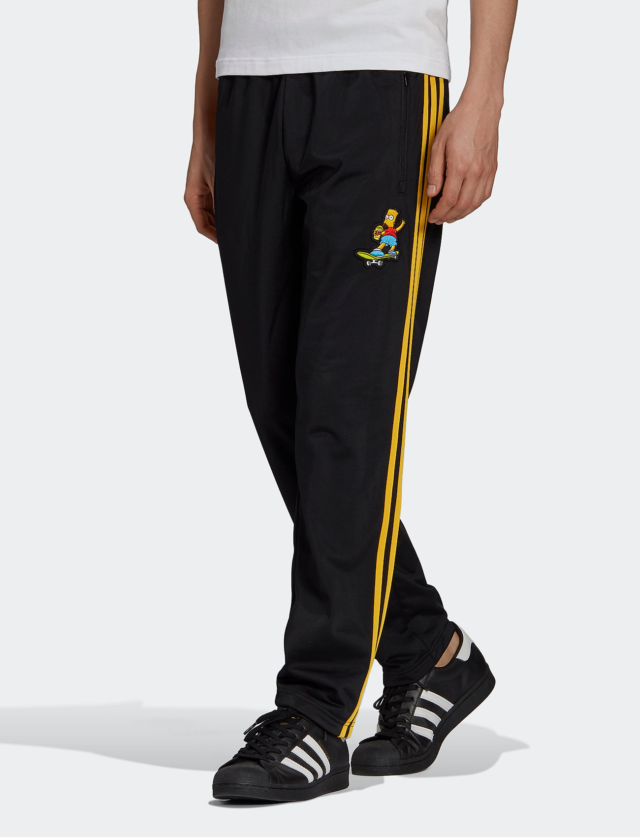 adidas Originals - Simpsons Firebird Track Pants - treenihousut - black - 0