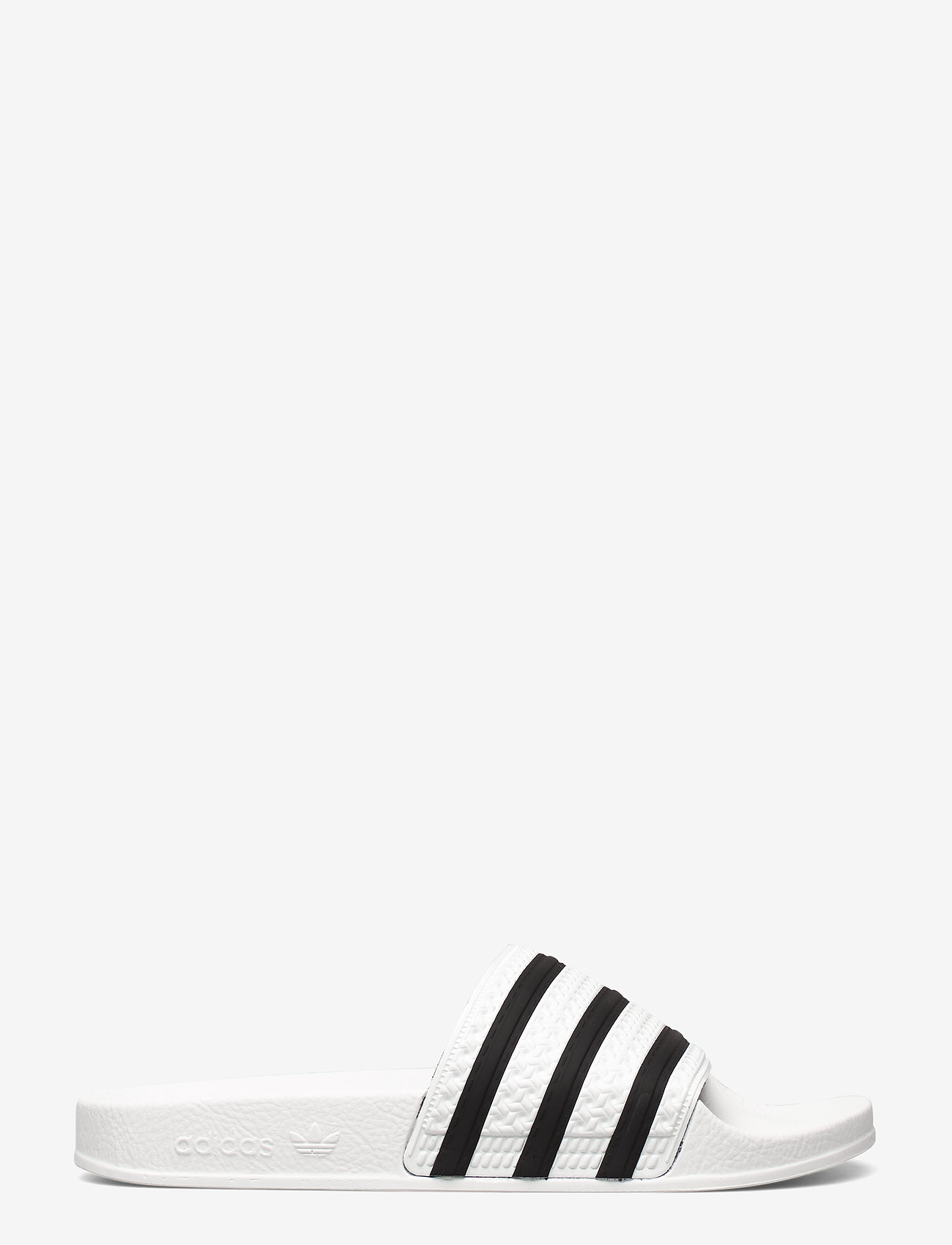 adidas Originals - Adilette Slides - tennarit - white/cblack/white - 1