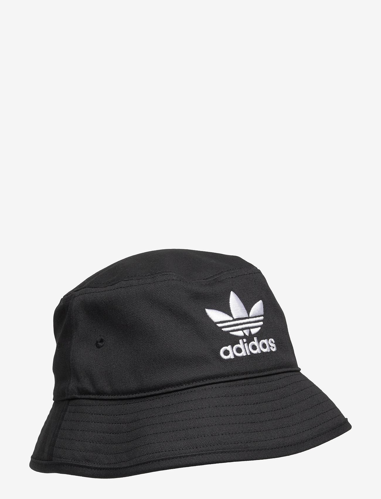 adidas Originals - Adicolor Trefoil Bucket Hat - bucket hats - black/white - 0