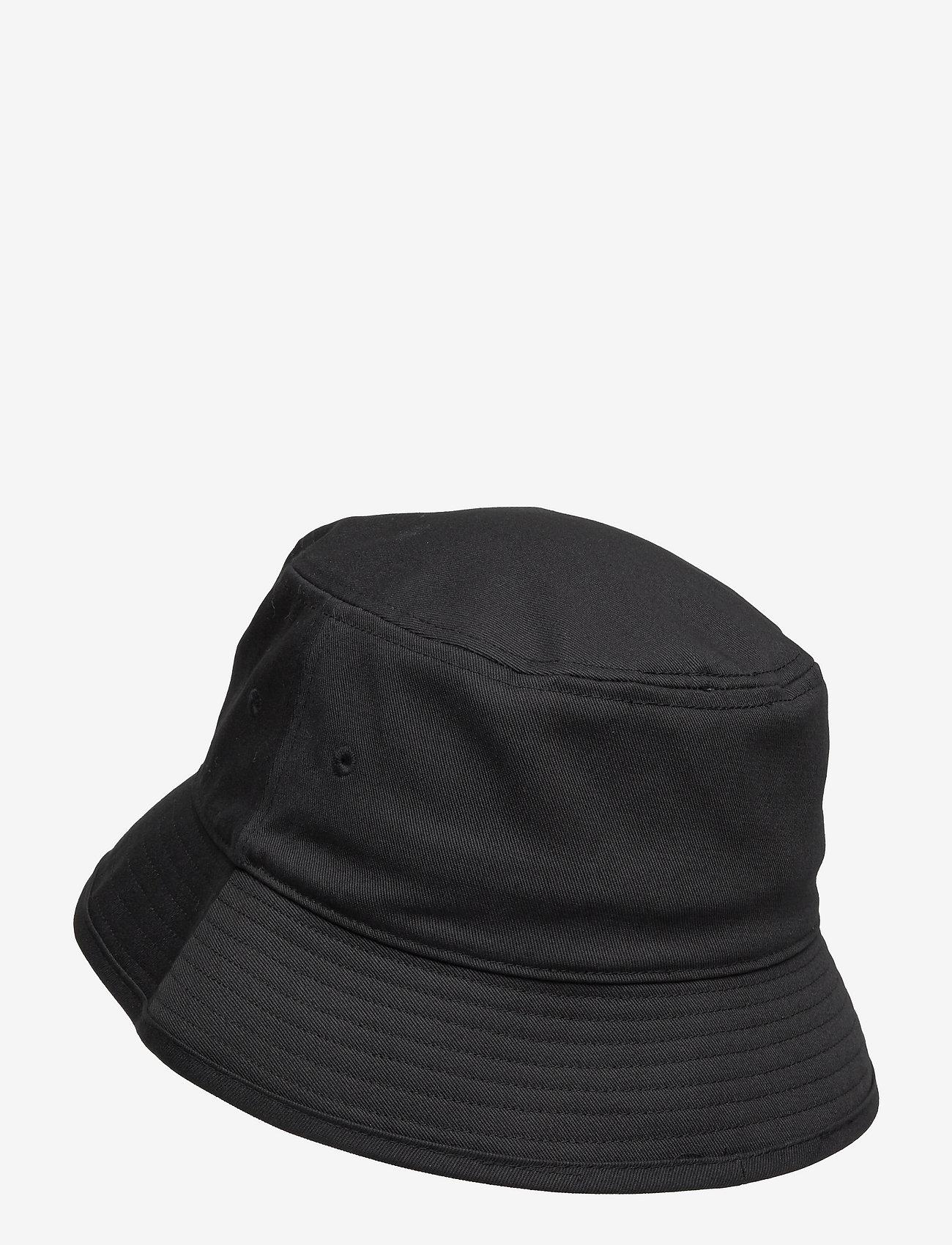 adidas Originals - Adicolor Trefoil Bucket Hat - bucket hats - black/white - 1