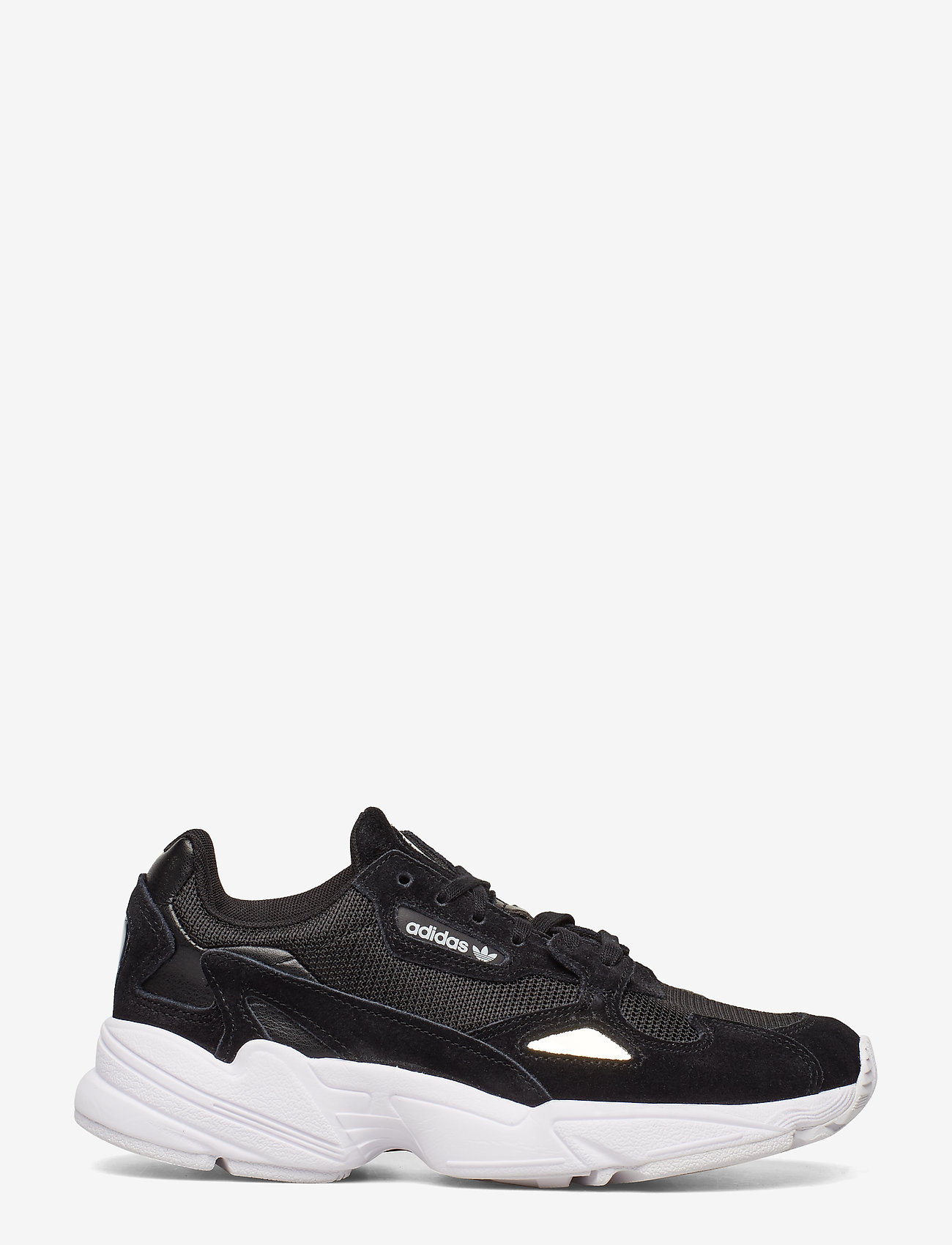 adidas Originals - FALCON W - chunky sneakers - cblack/cblack/ftwwht - 1