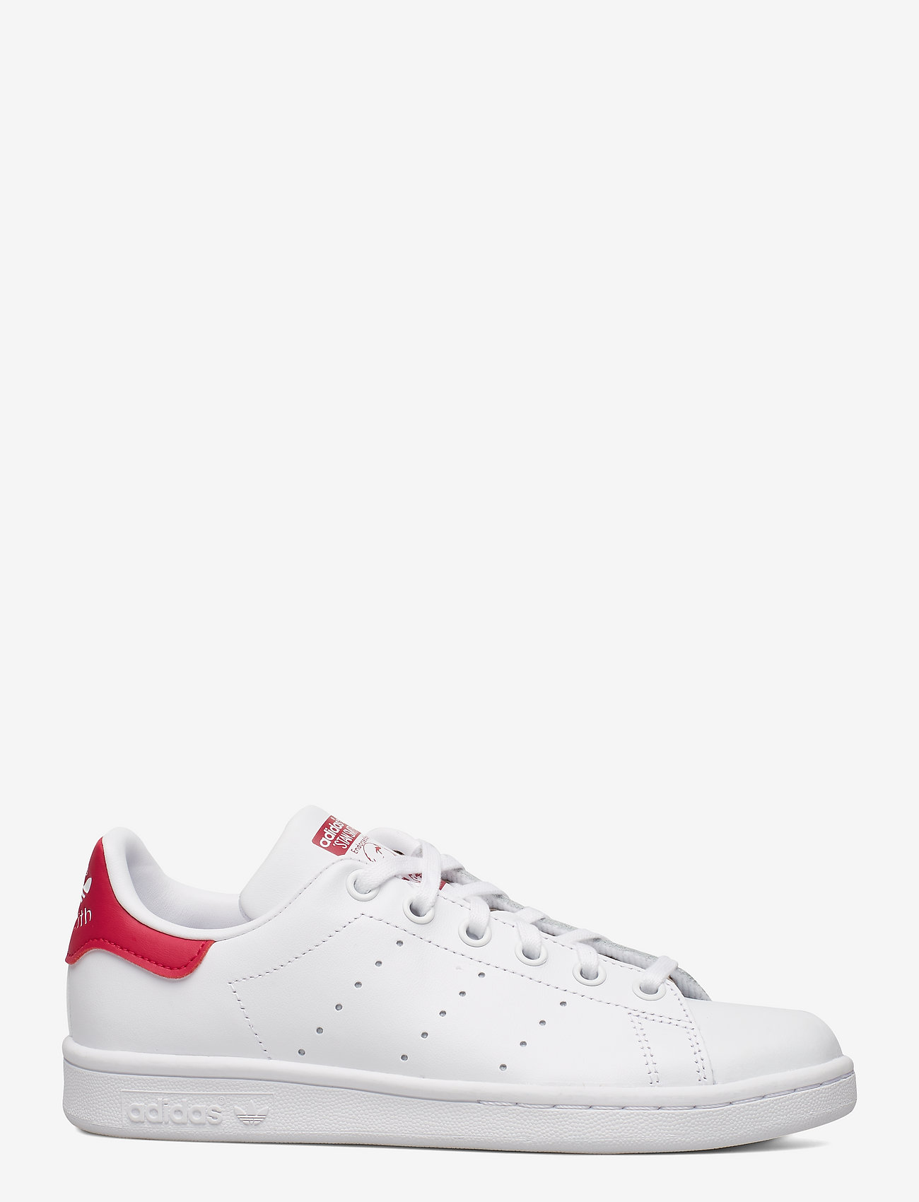 adidas Originals - STAN SMITH J - low tops - ftwwht/ftwwht/bopink - 1