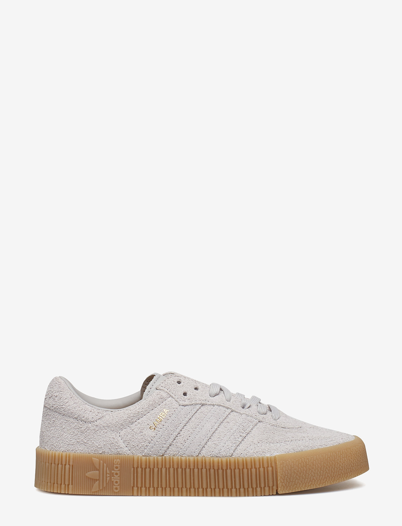adidas Originals - SAMBAROSE W - low top sneakers - gretwo/gretwo/gum4
