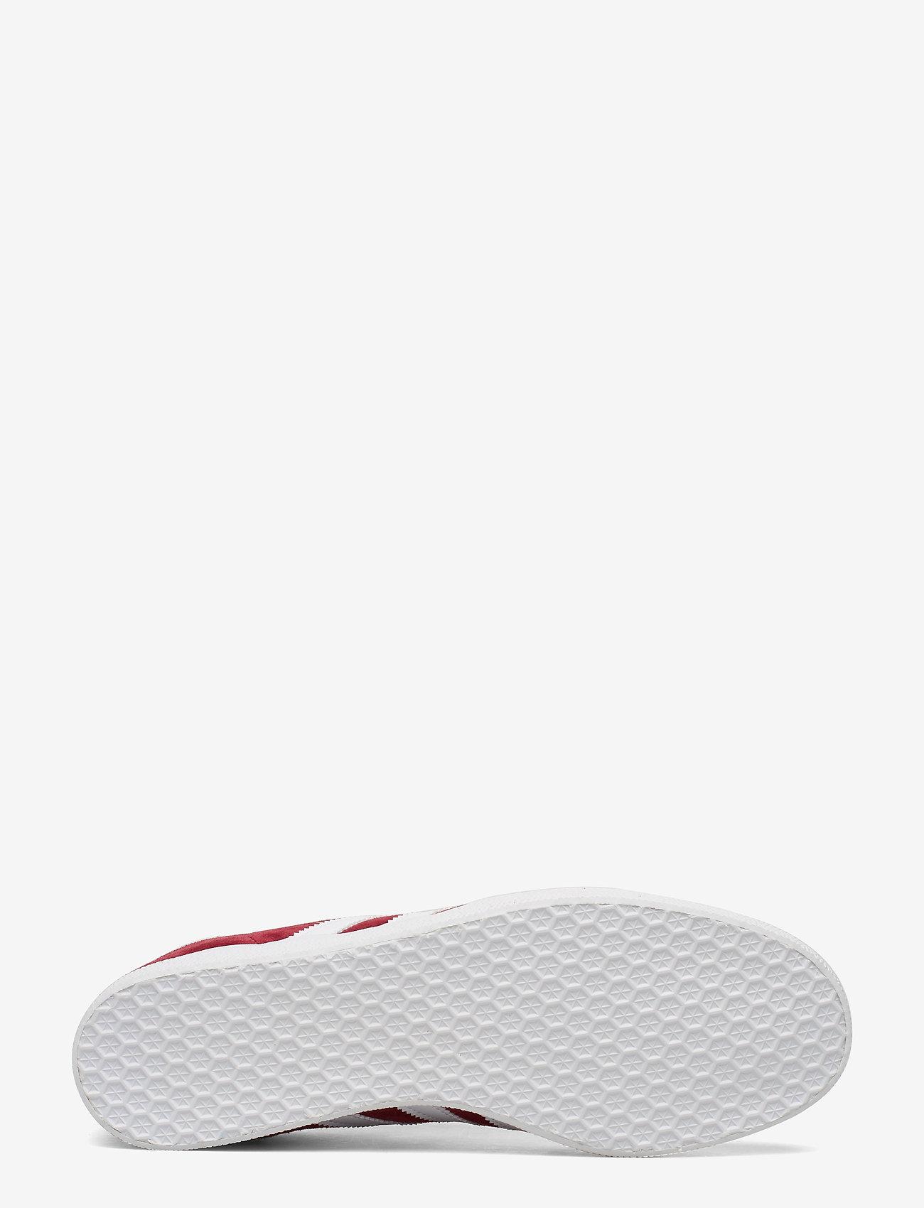 Gazelle (Cburgu/ftwwht/goldmt) - adidas Originals