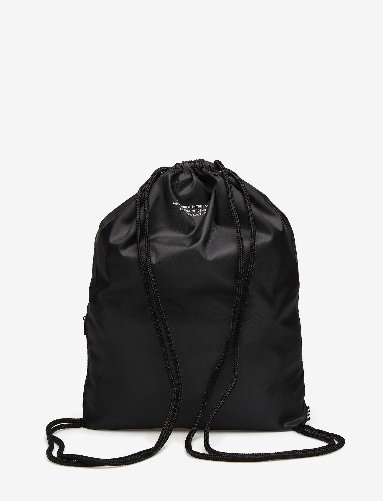 adidas Originals - Trefoil Gym Sack - sportsvesker - black - 1