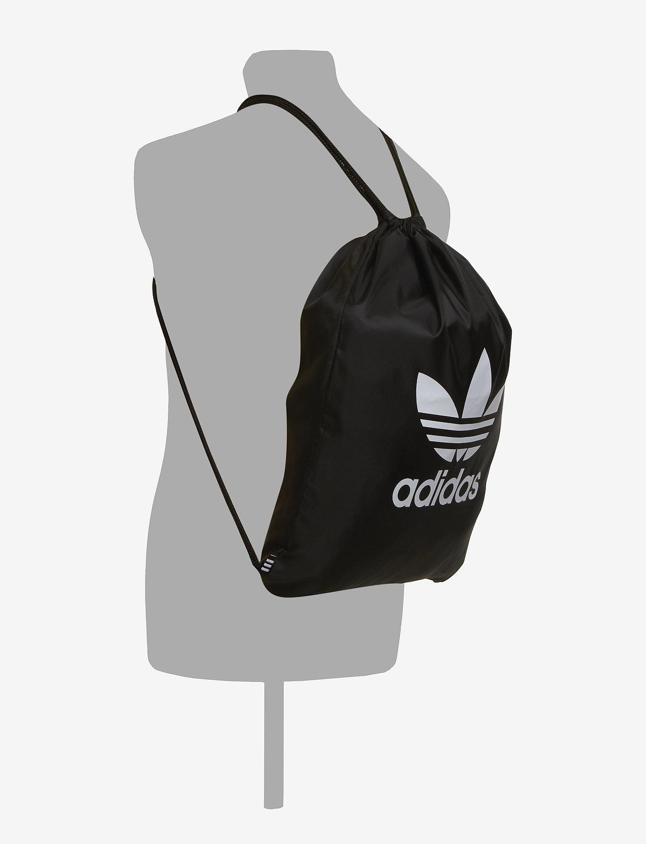 adidas Originals GYMSACK TREFOIL - Plecaki BLACK - Torby