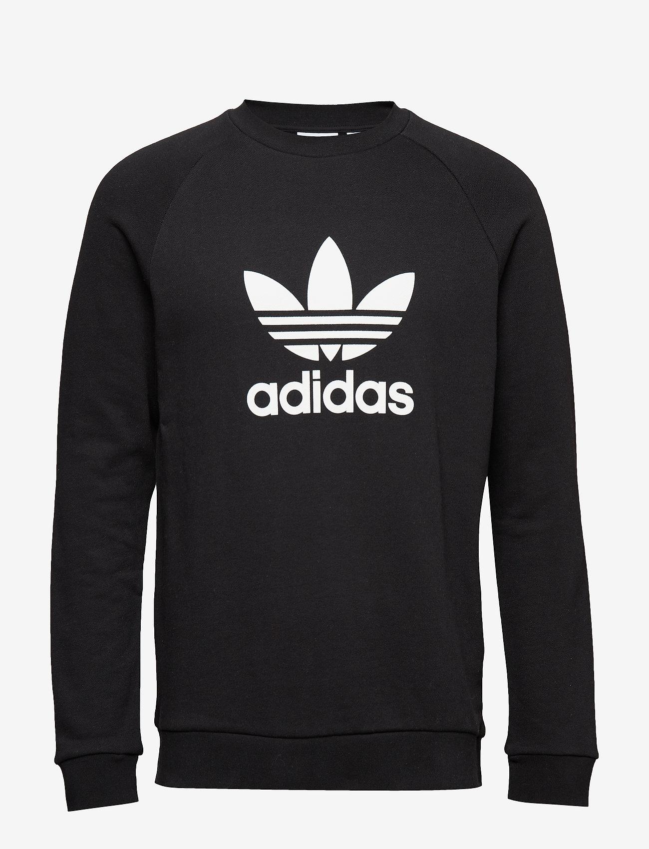 adidas Originals - TREFOIL CREW - overdeler - black - 1