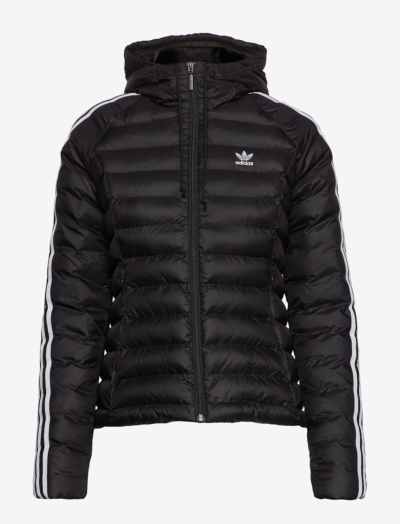 adidas Originals - SLIM JACKET - sports jackets - black - 0