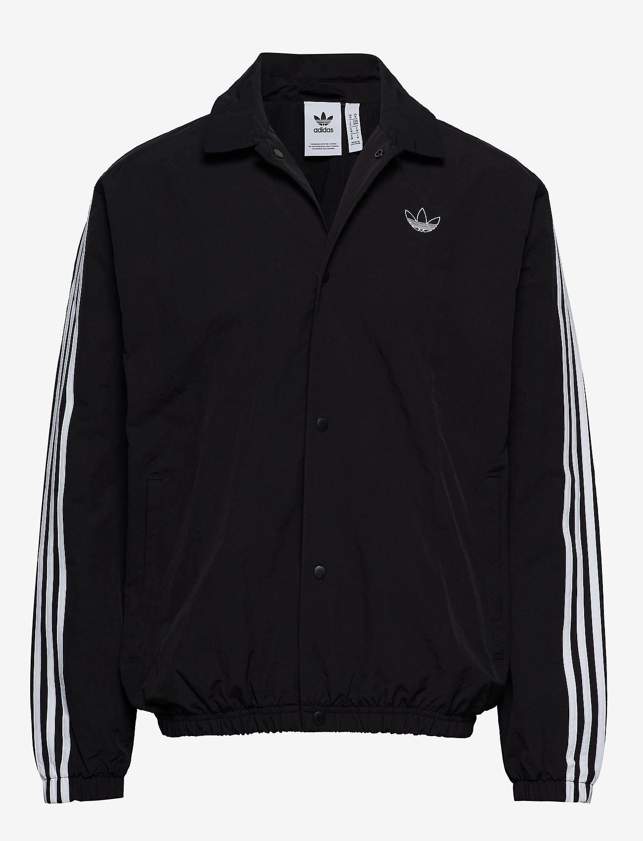 Adidas Originals Trefoil Coach Jakke Black