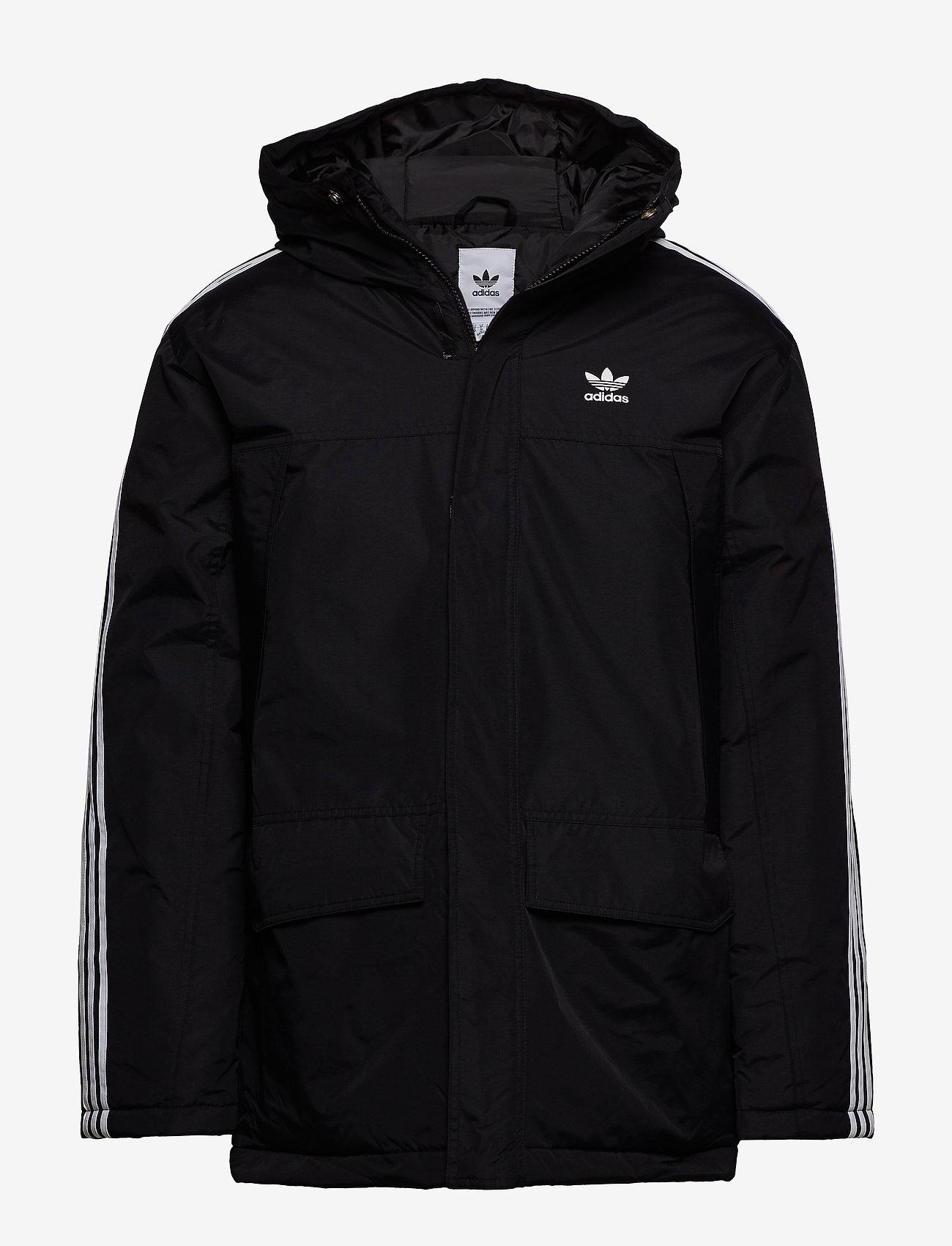 adidas Originals - PARKA PADDE - kurtki puchowe - black - 1
