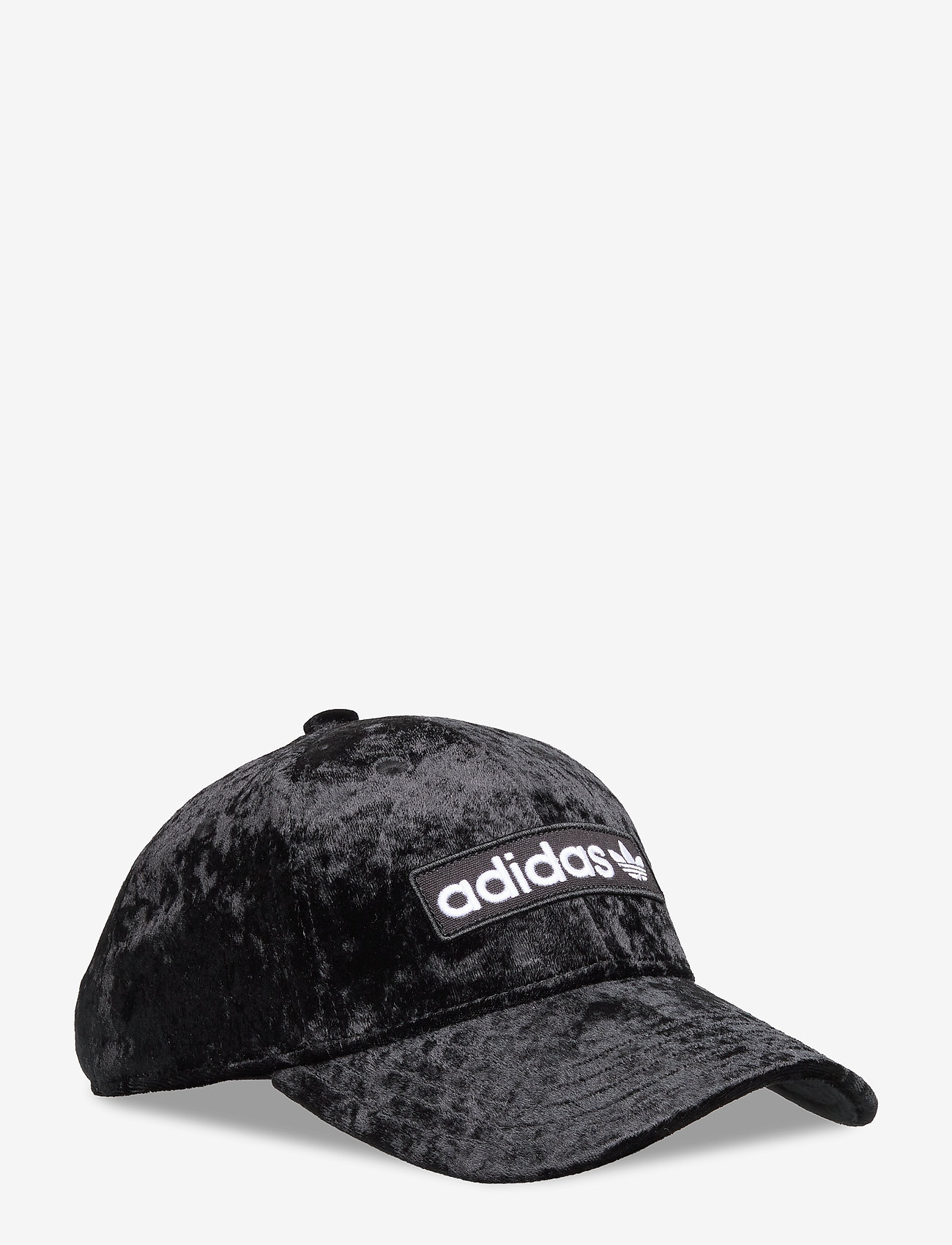 adidas Originals - BASEBALL CAP - caps - black/white