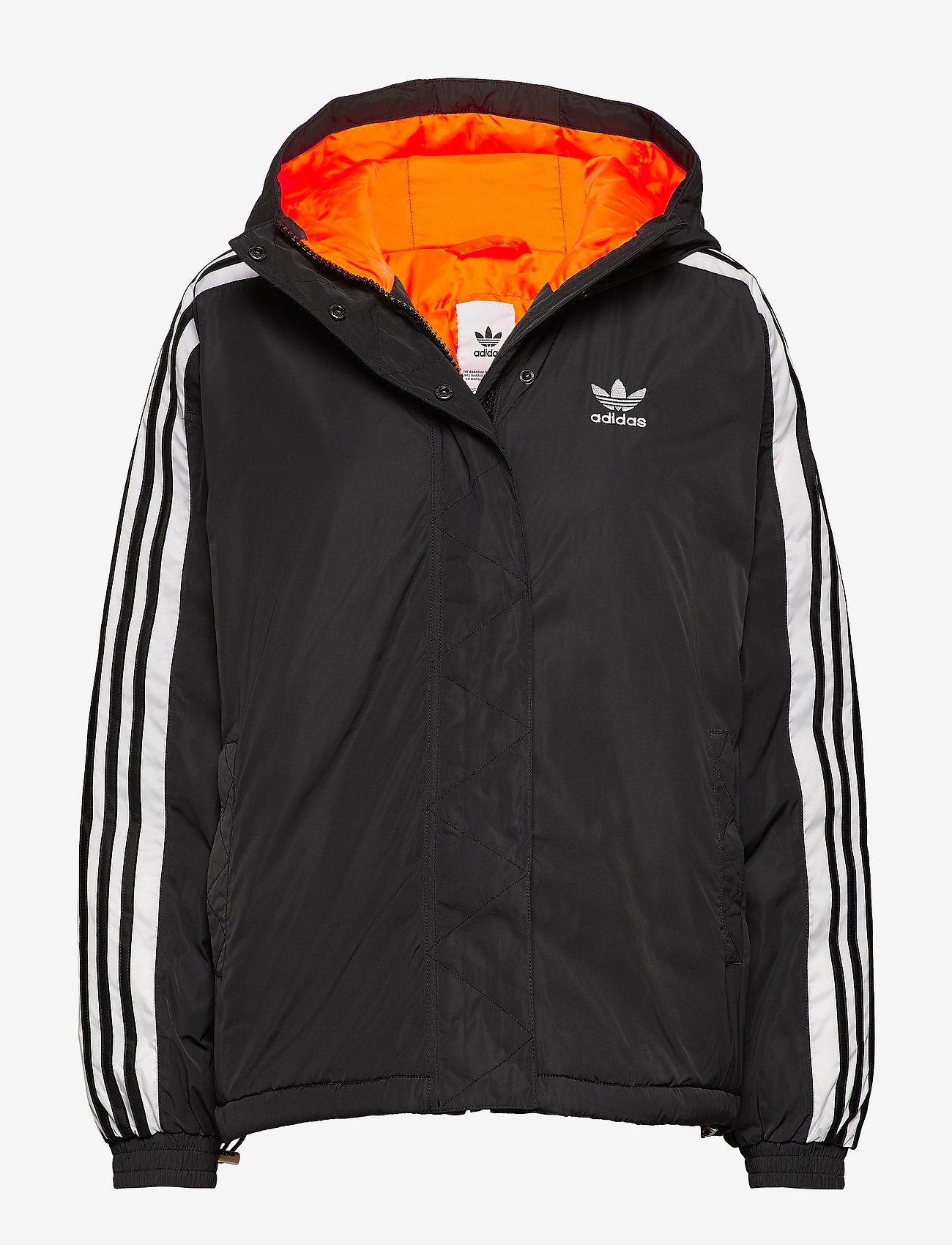 adidas Originals - SHORT SYN DOWN - kurtki sportowe - black - 0