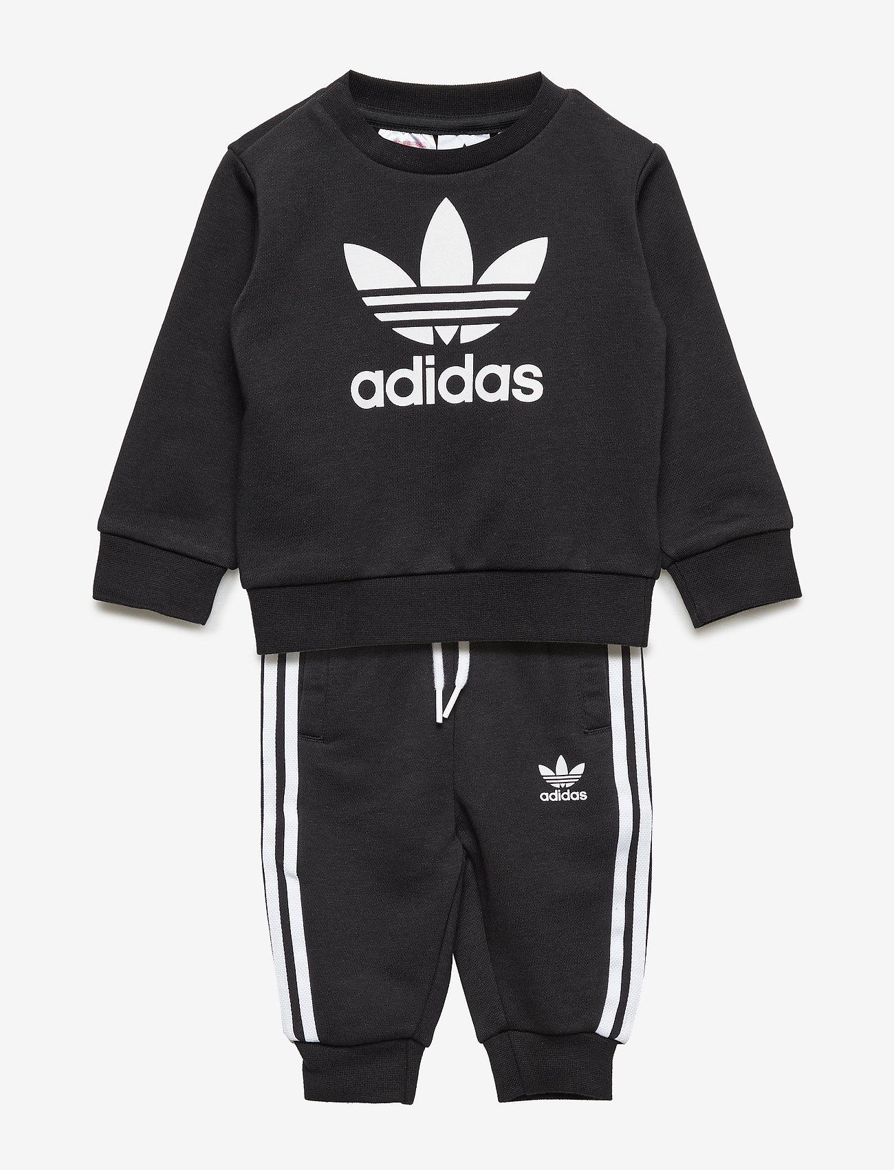 adidas Originals - Crew Sweatshirt Set - sweatshirts - black/white - 0